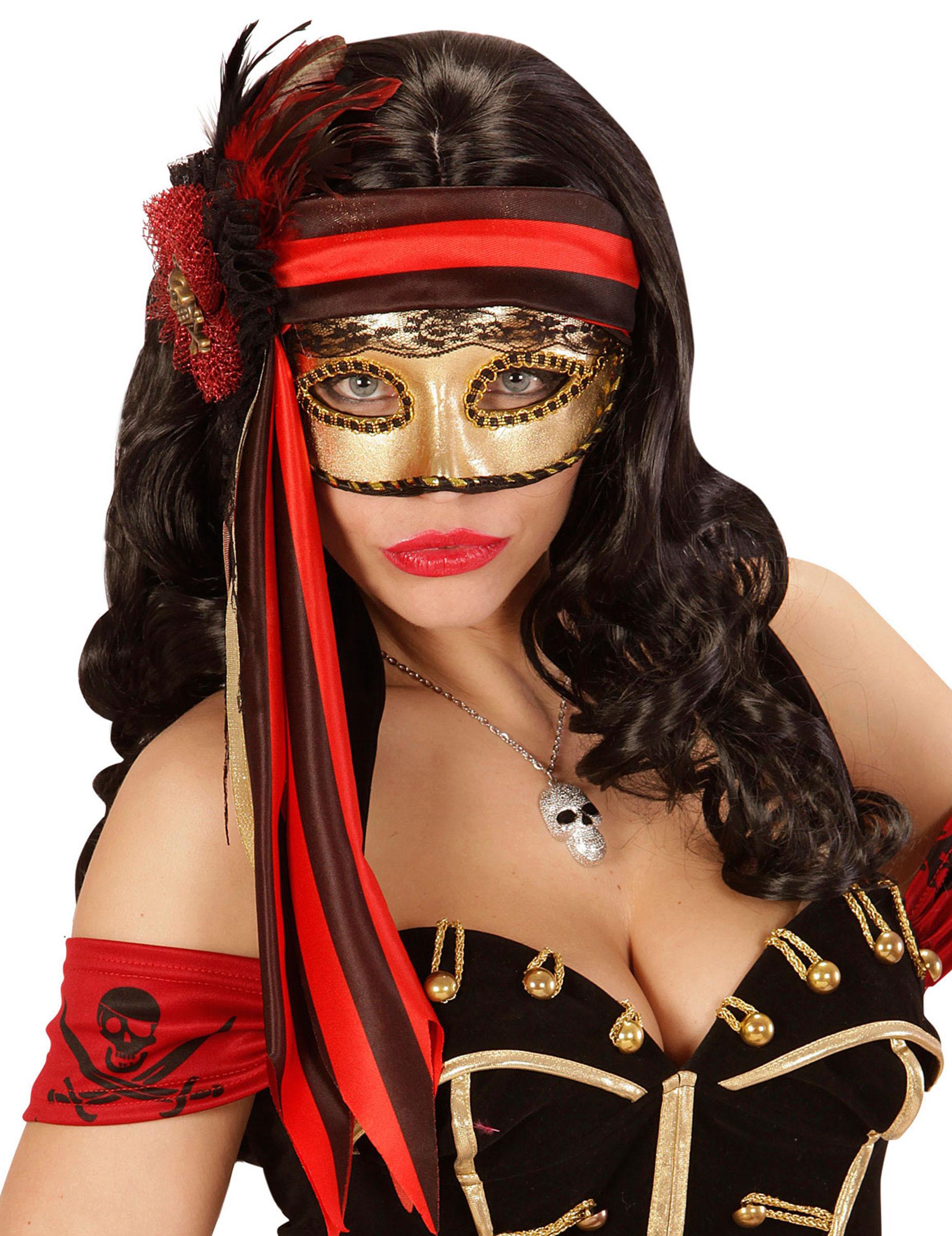 Loup Pirate Femme Deguise Toi Achat De Masques