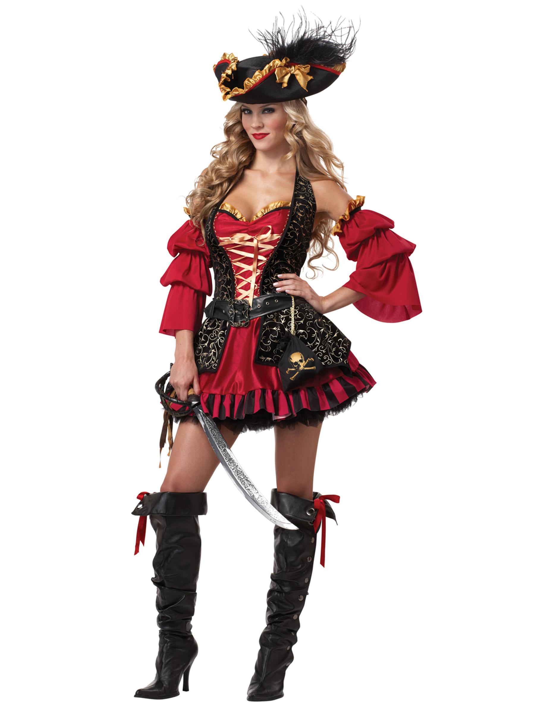 Déguisement Pirate pour femme , Premium
