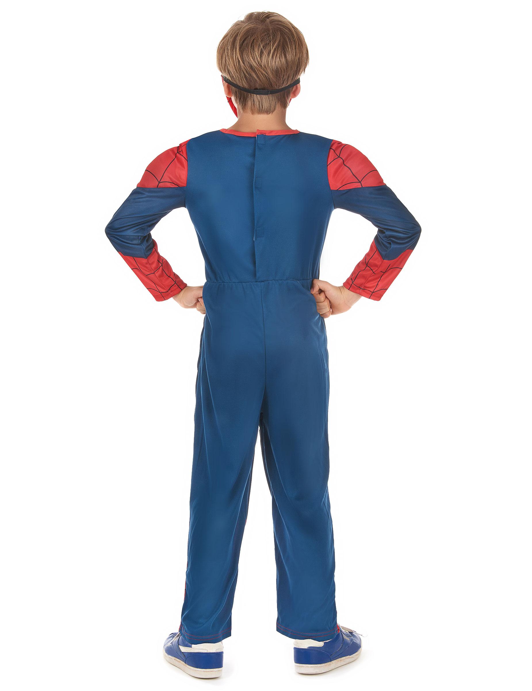 d guisement luxe 3d eva spiderman ultimate enfant coffret deguise toi achat de d guisements. Black Bedroom Furniture Sets. Home Design Ideas