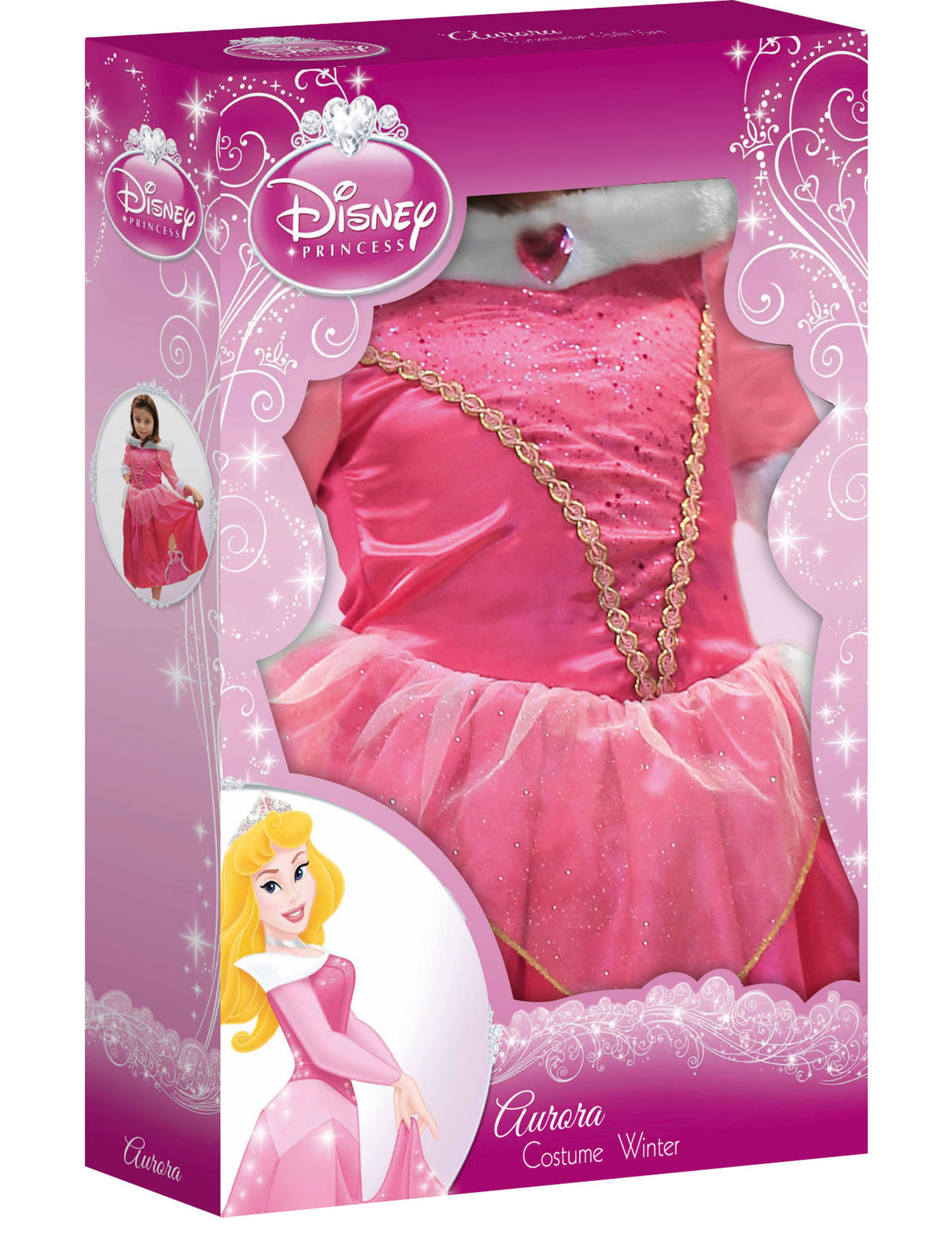 D guisement luxe winter in wonderland aurore fille coffret achat de d guisements enfants sur - Deguisement princesse aurore ...