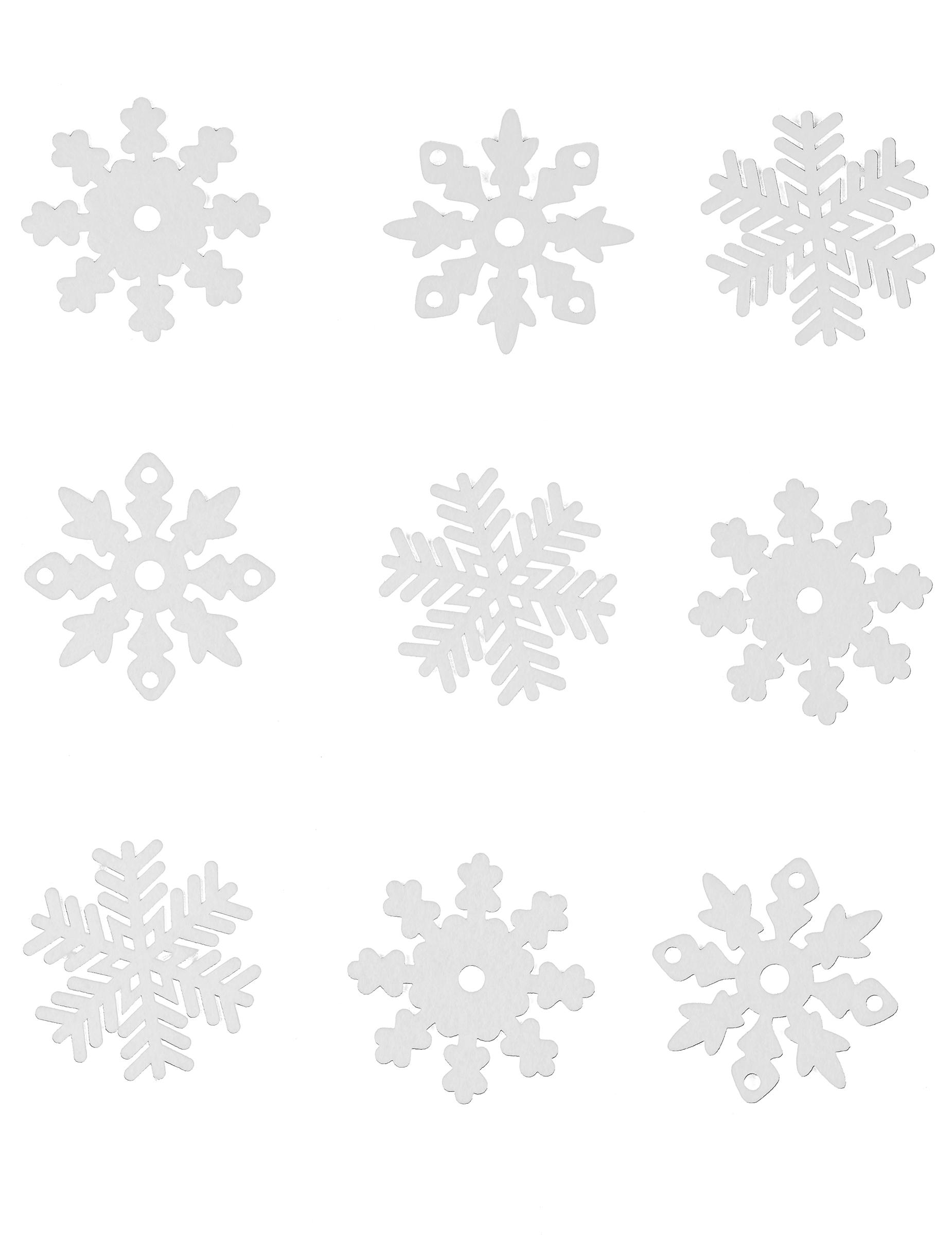 #666666 9 Flocons Des Neiges En Feutrine Noël : Deguise Toi Achat  6341 decoration noel a fabriquer flocon 1850x2400 px @ aertt.com