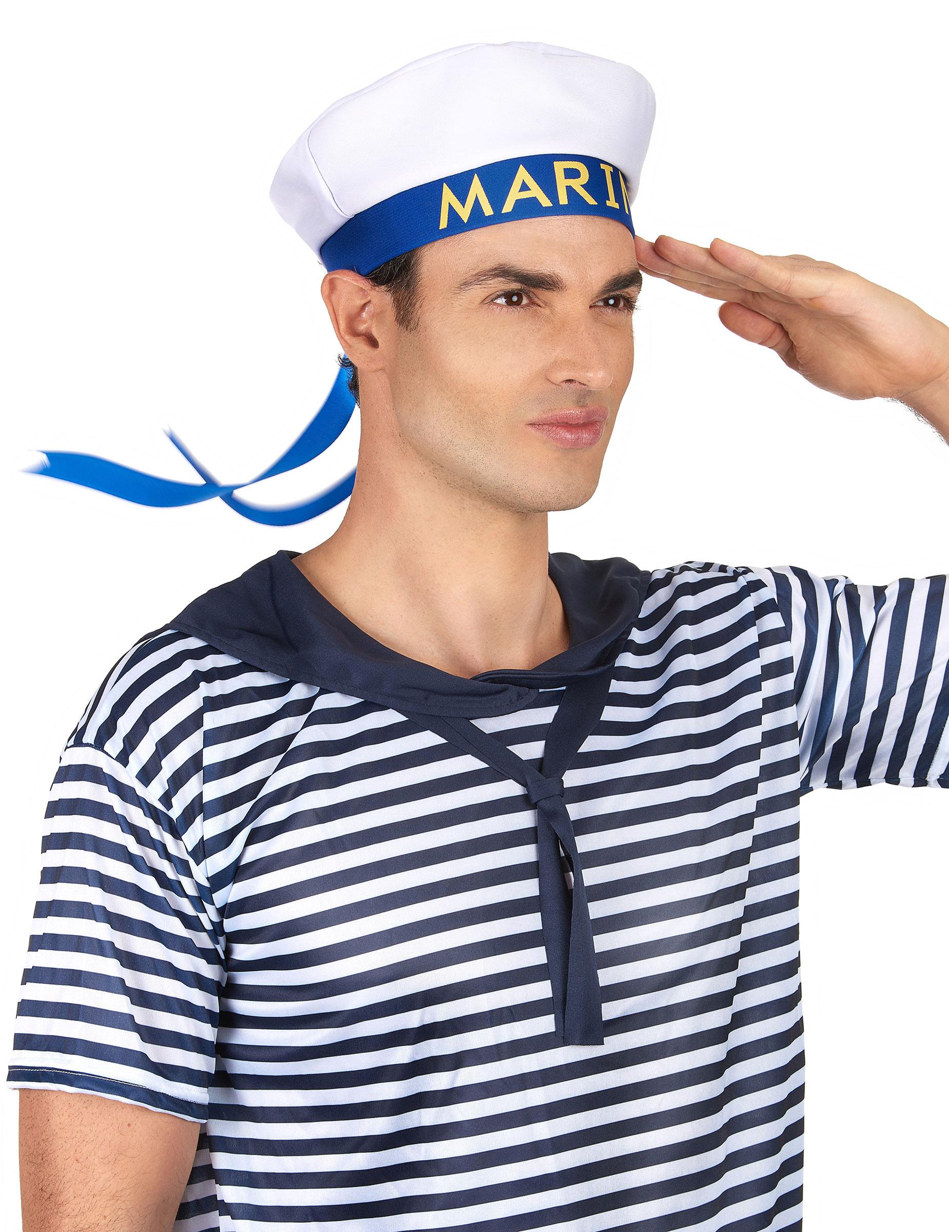 chapeau marin adulte achat de chapeaux sur vegaoopro grossiste en d guisements. Black Bedroom Furniture Sets. Home Design Ideas
