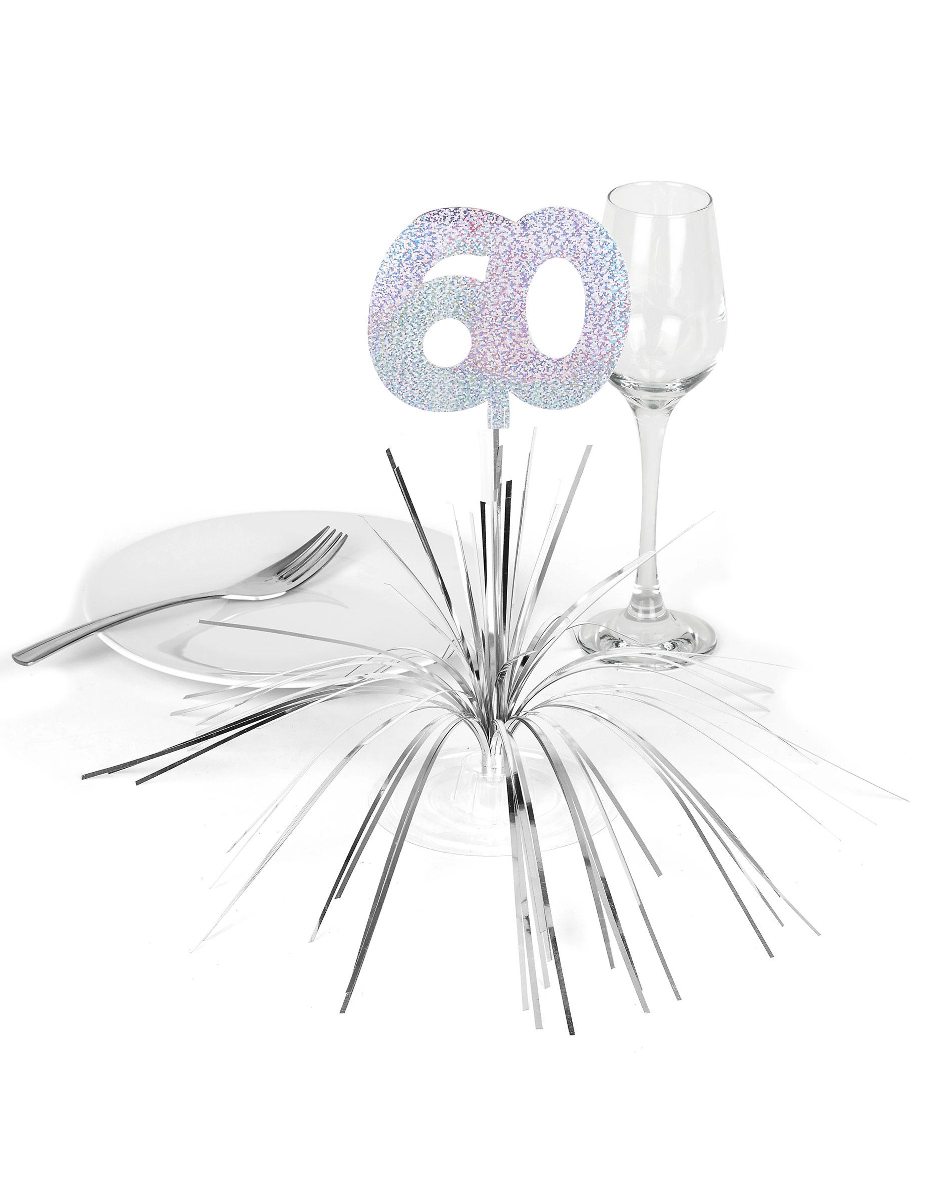 Centre de table 60 ans achat de decoration animation for Idee deco table 50 ans