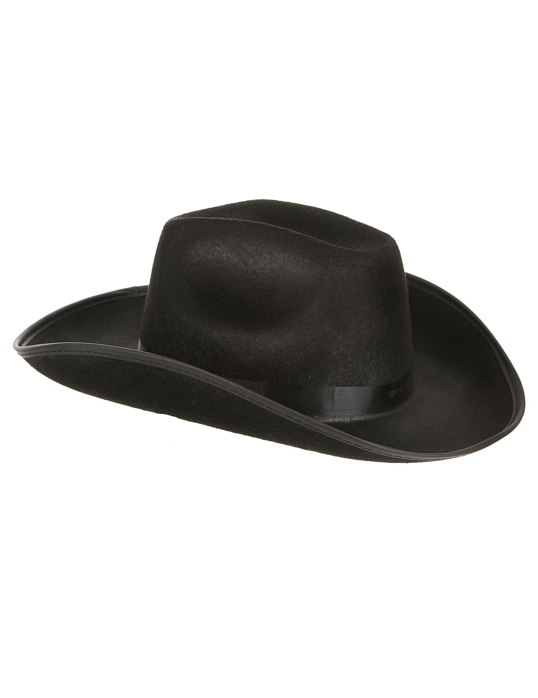 chapeau de cowboy noir adulte deguise toi achat de chapeaux. Black Bedroom Furniture Sets. Home Design Ideas