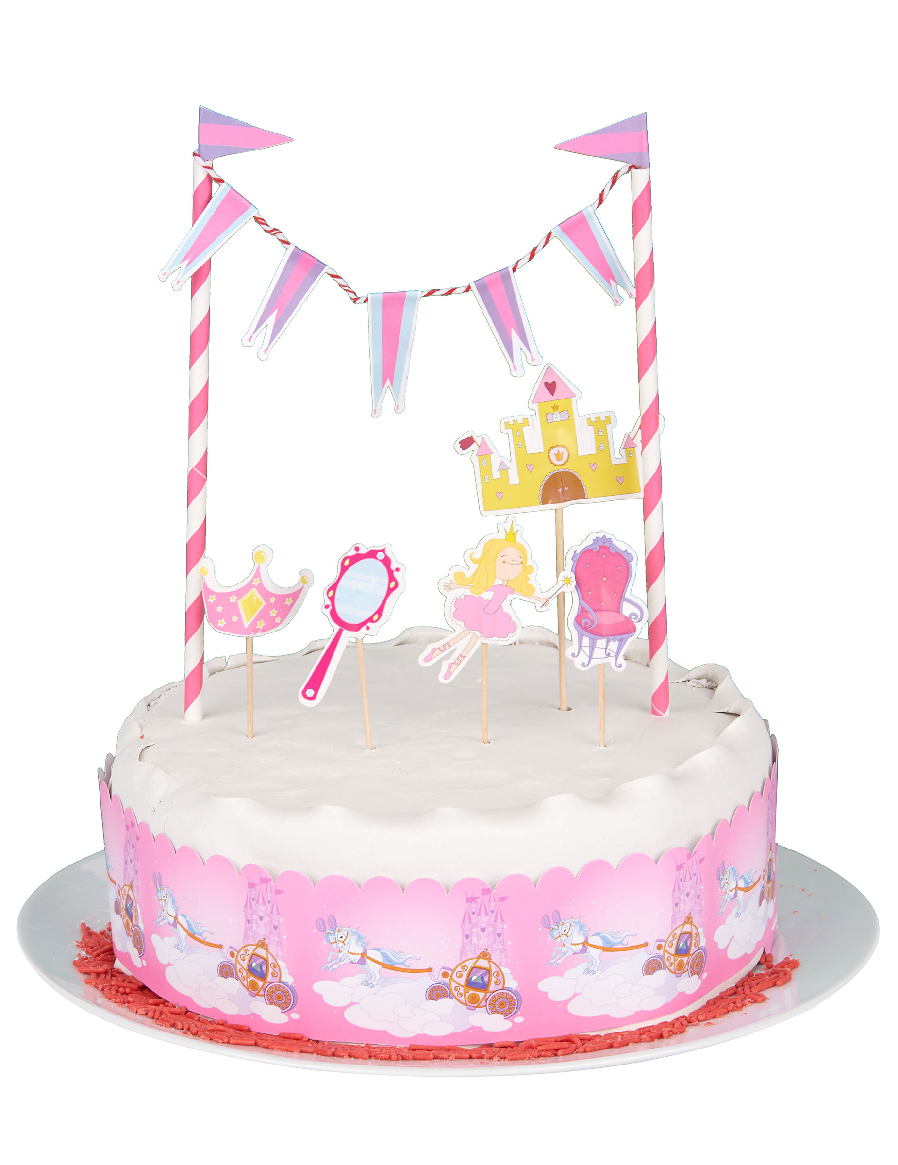 deco gateau princesse