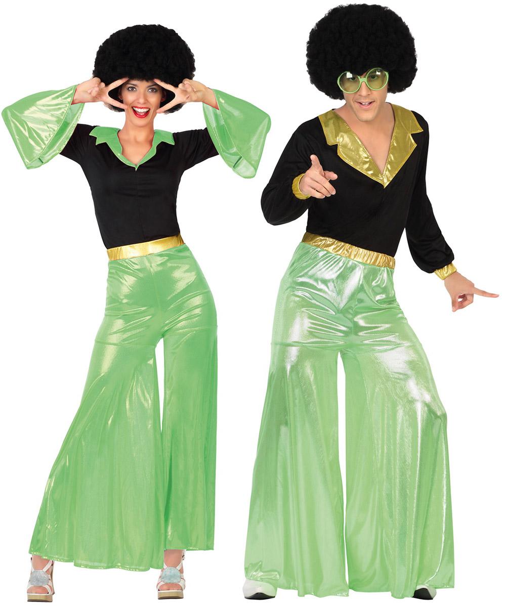 d guisement de couple disco verts pour adultes deguise toi achat de d guisements couples. Black Bedroom Furniture Sets. Home Design Ideas