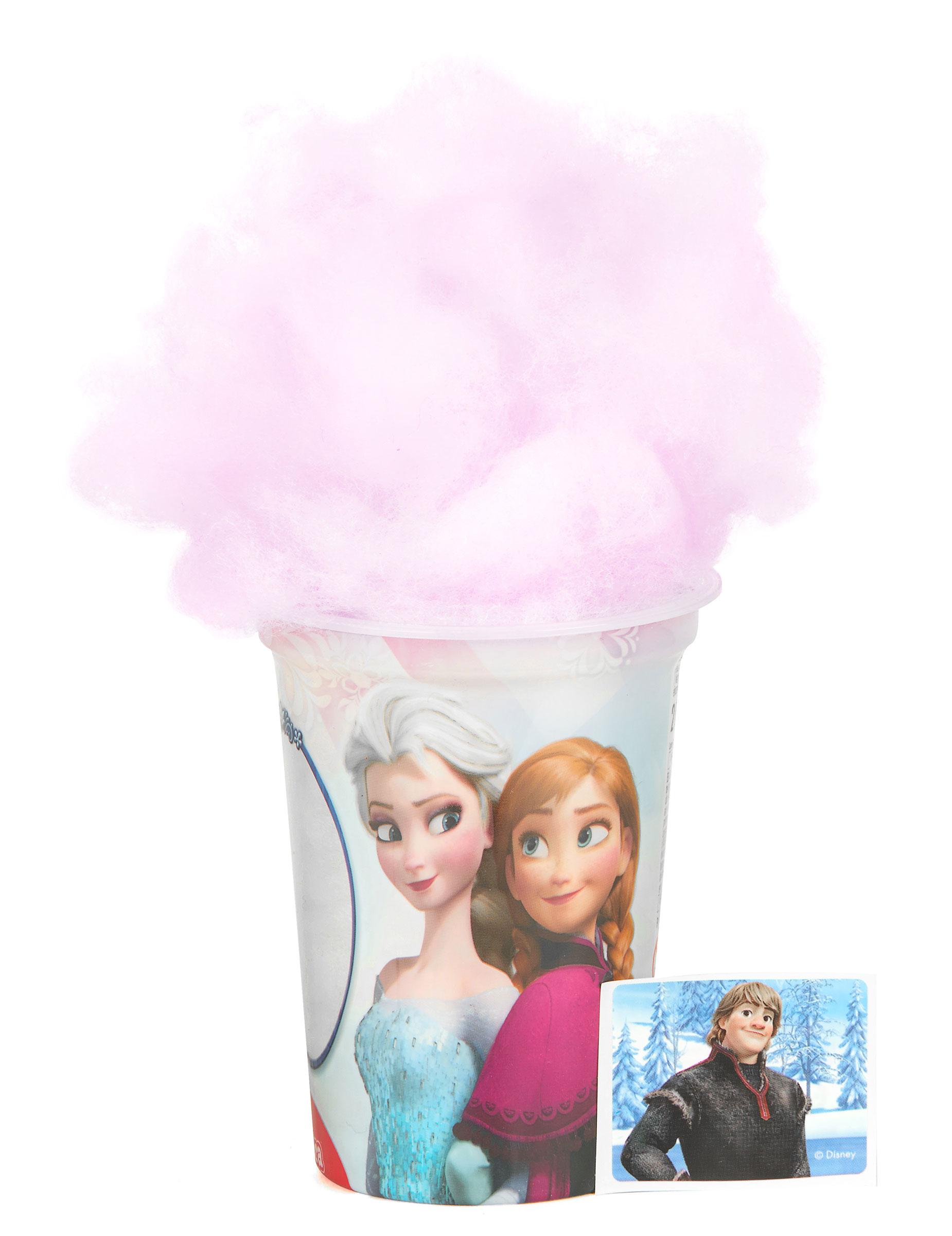 Pot de barbe papa la reine des neiges achat de decoration animation sur vegaoopro - Barbe a papa personnage ...