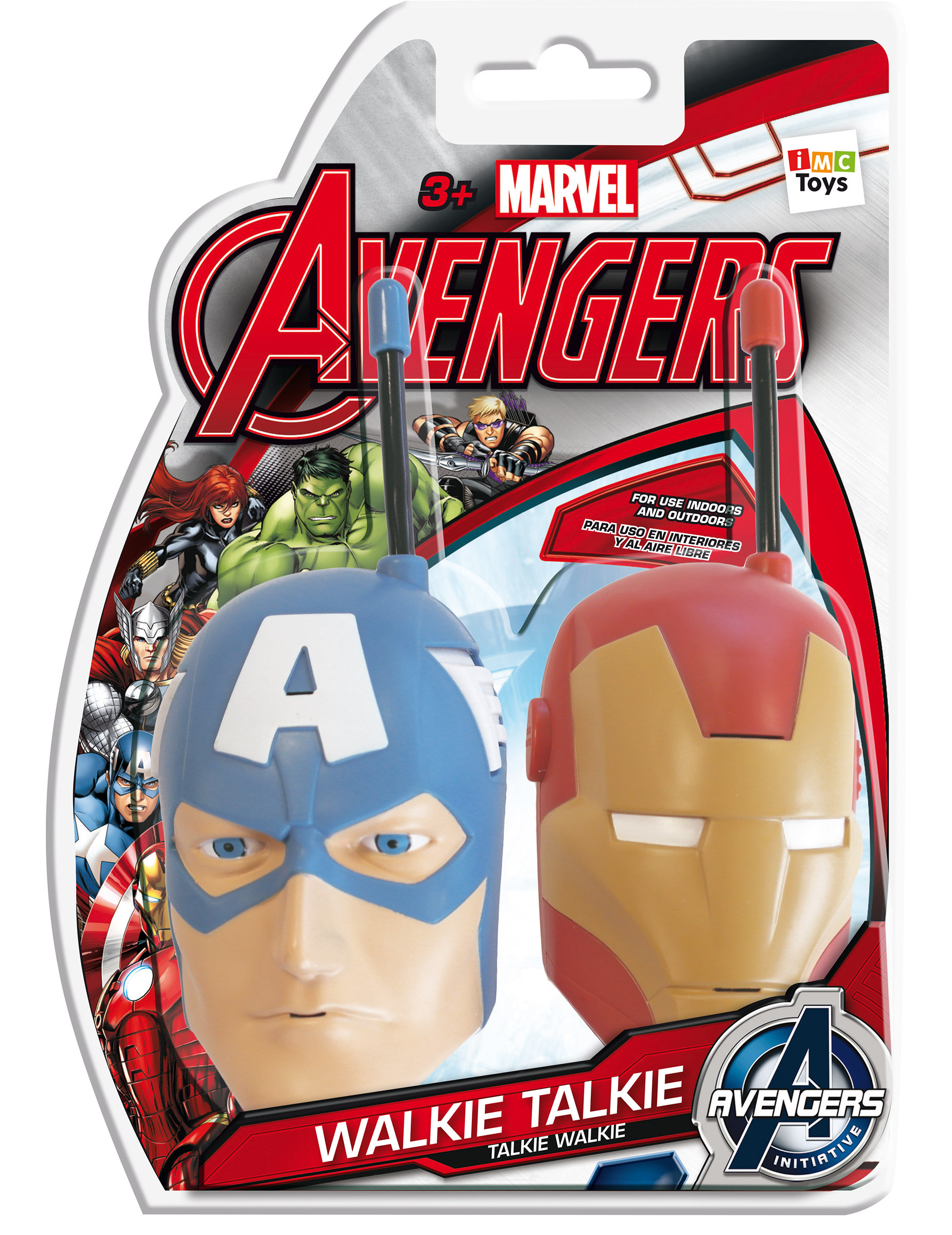 2 talkie walkie avengers achat de accessoires sur. Black Bedroom Furniture Sets. Home Design Ideas