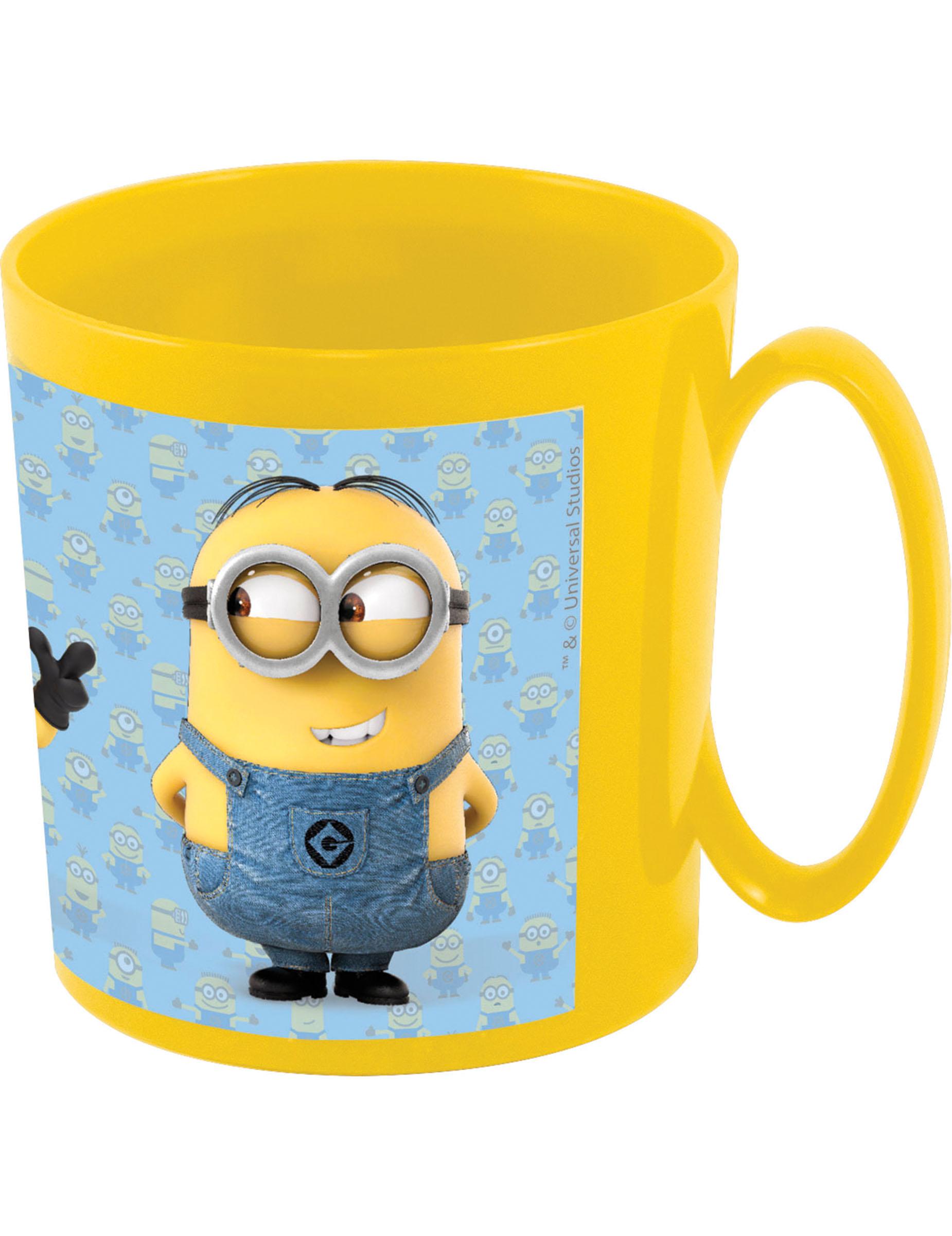 mug en plastique minions deguise toi achat de decoration animation. Black Bedroom Furniture Sets. Home Design Ideas