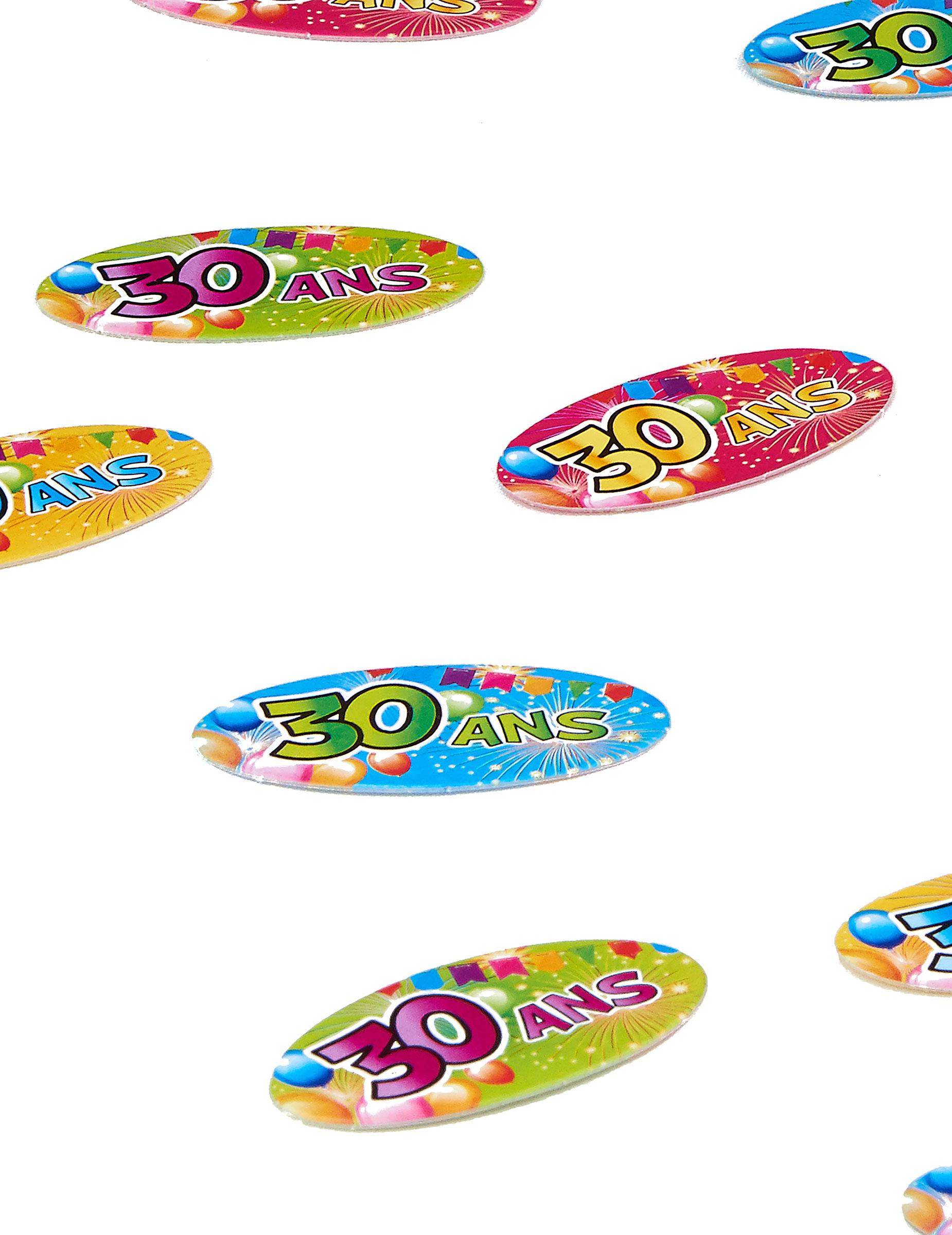 confettis de table 30 ans anniversaire fiesta achat de decoration animation sur vegaoopro. Black Bedroom Furniture Sets. Home Design Ideas
