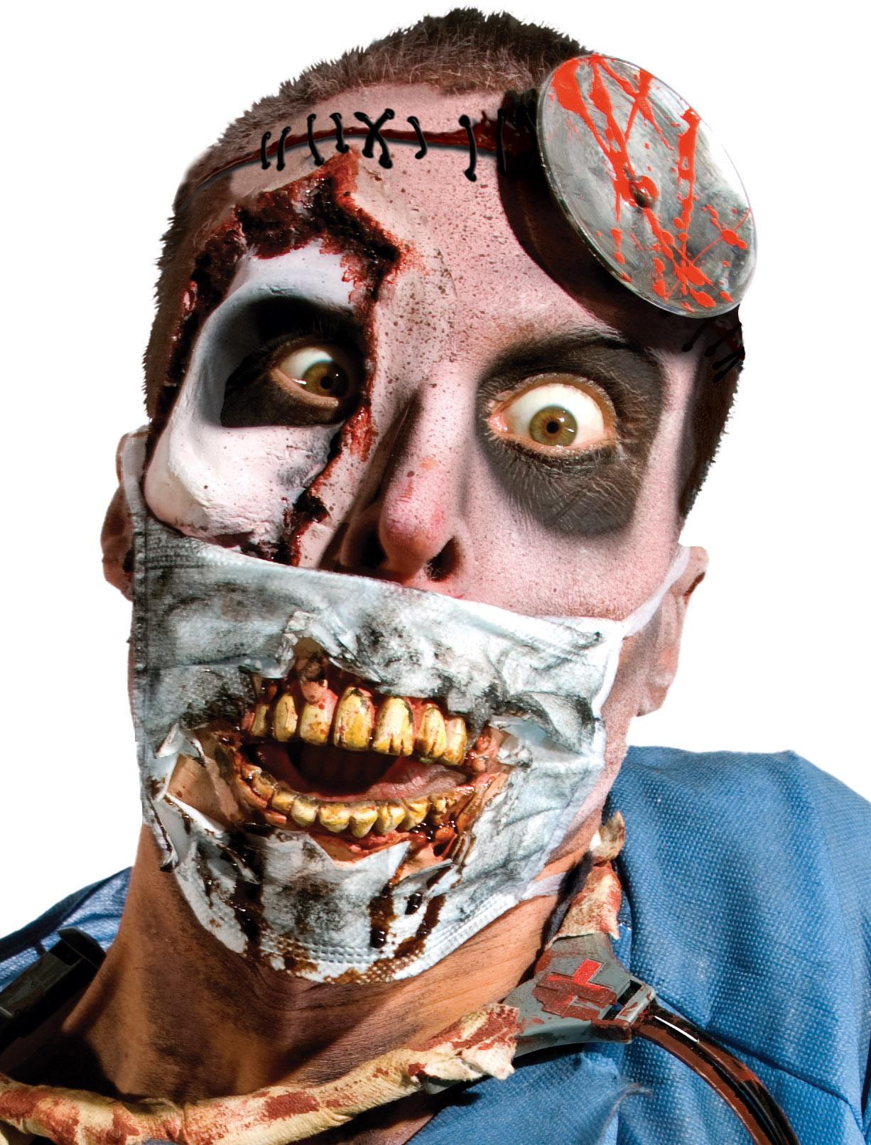 Masque de chirurgien zombie adulte halloween deguise toi - Halloween adulte ...