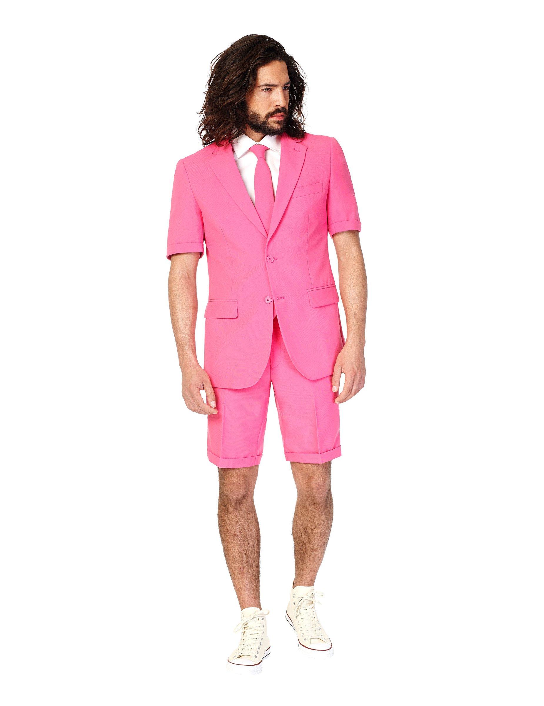 Costume d 39 t mr pink homme opposuits achat de d guisements adultes sur vegaoopro grossiste - Costume homme ete ...