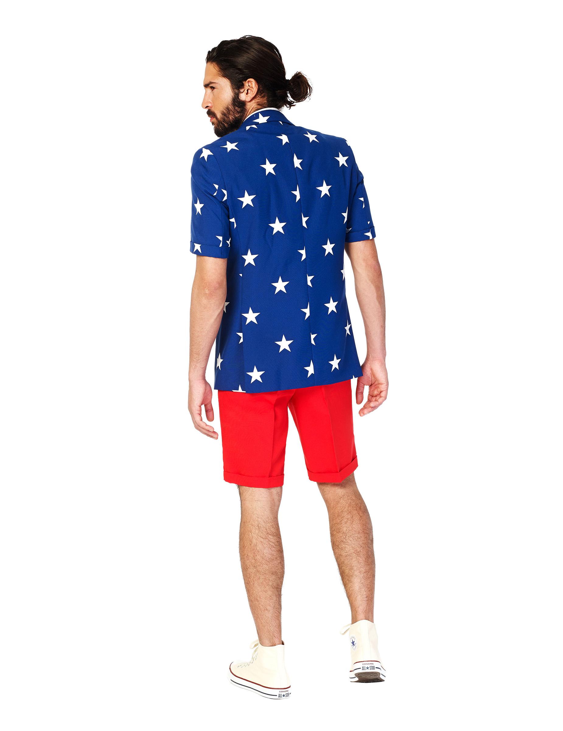 Costume d 39 t mr usa homme opposuits achat de d guisements adultes sur vegaoopro grossiste - Costume homme ete ...