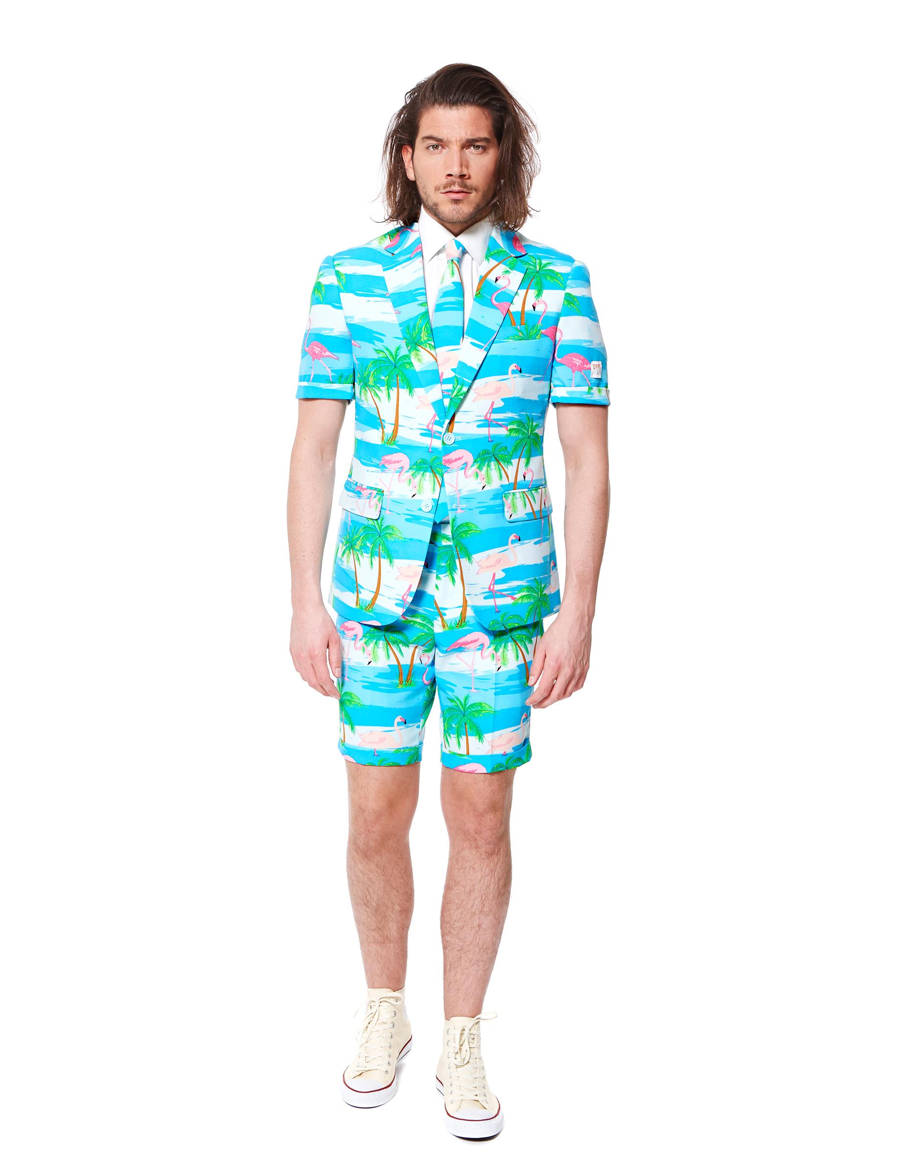 Costume d 39 t mr flamingo homme opposuits achat de d guisements adultes sur vegaoopro - Costume homme ete ...
