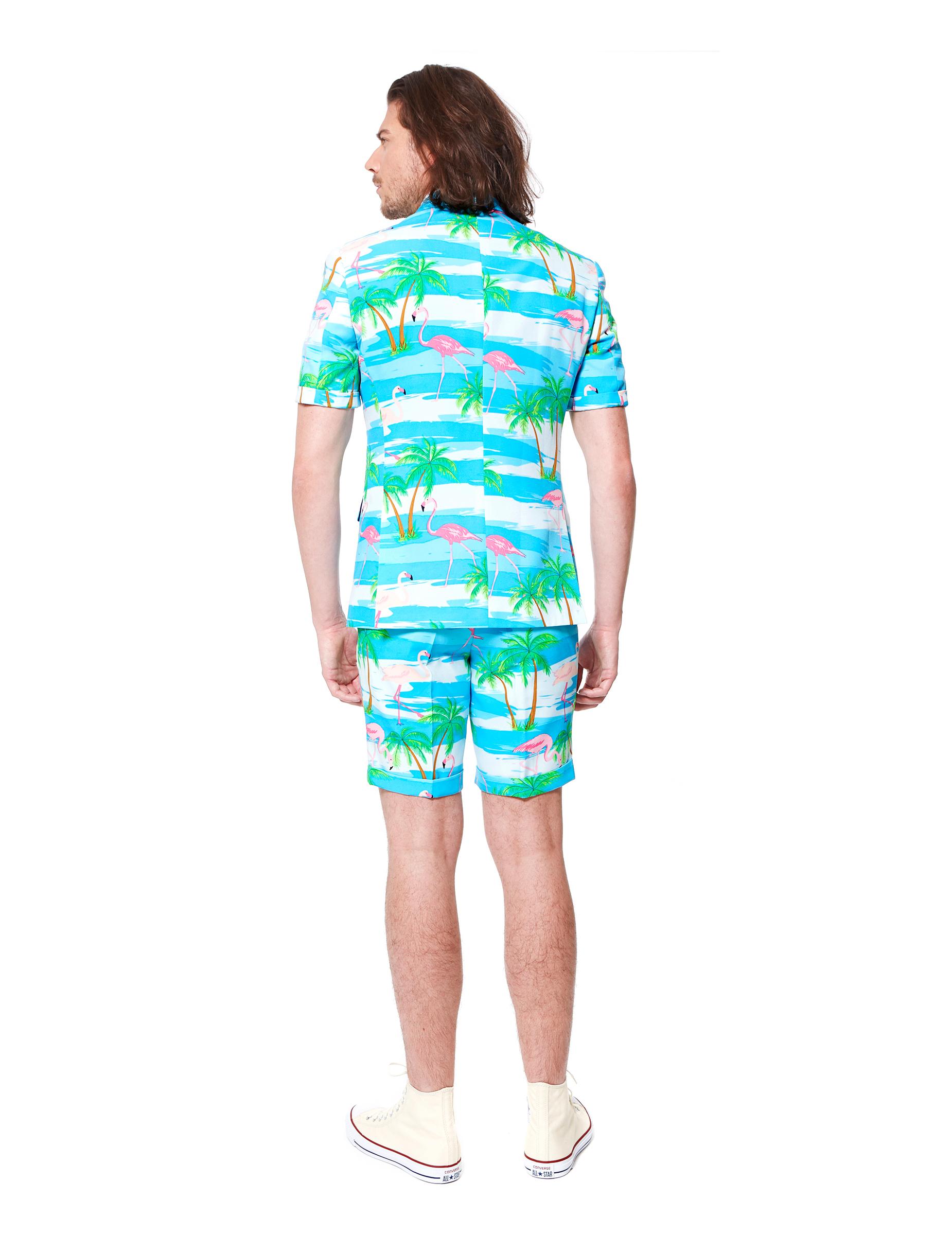 Costume d 39 t mr flamingo homme opposuits deguise toi achat de d guisements adultes - Costume homme ete ...