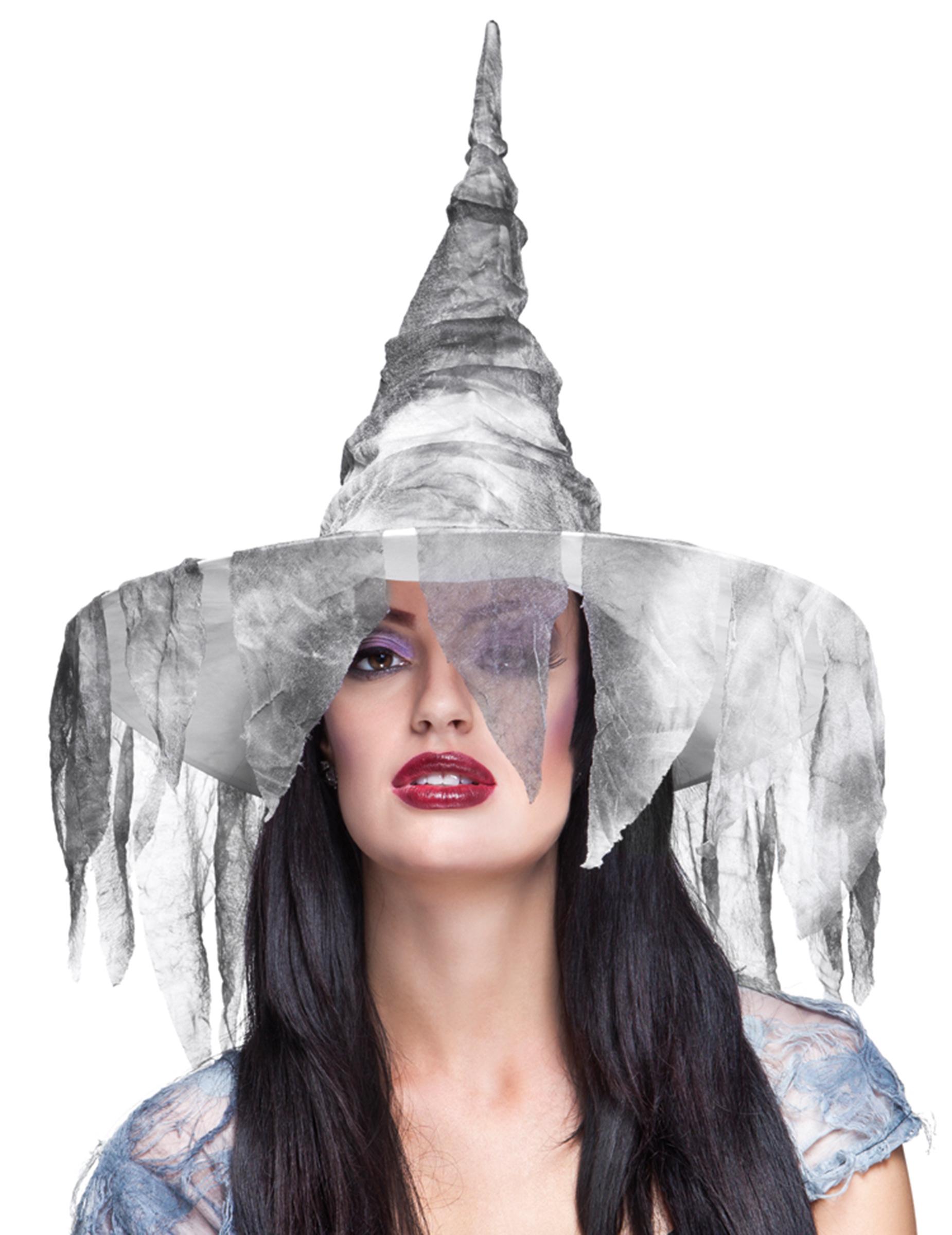 chapeau sorci re d chue blanc femme halloween achat de chapeaux sur vegaoopro grossiste en. Black Bedroom Furniture Sets. Home Design Ideas