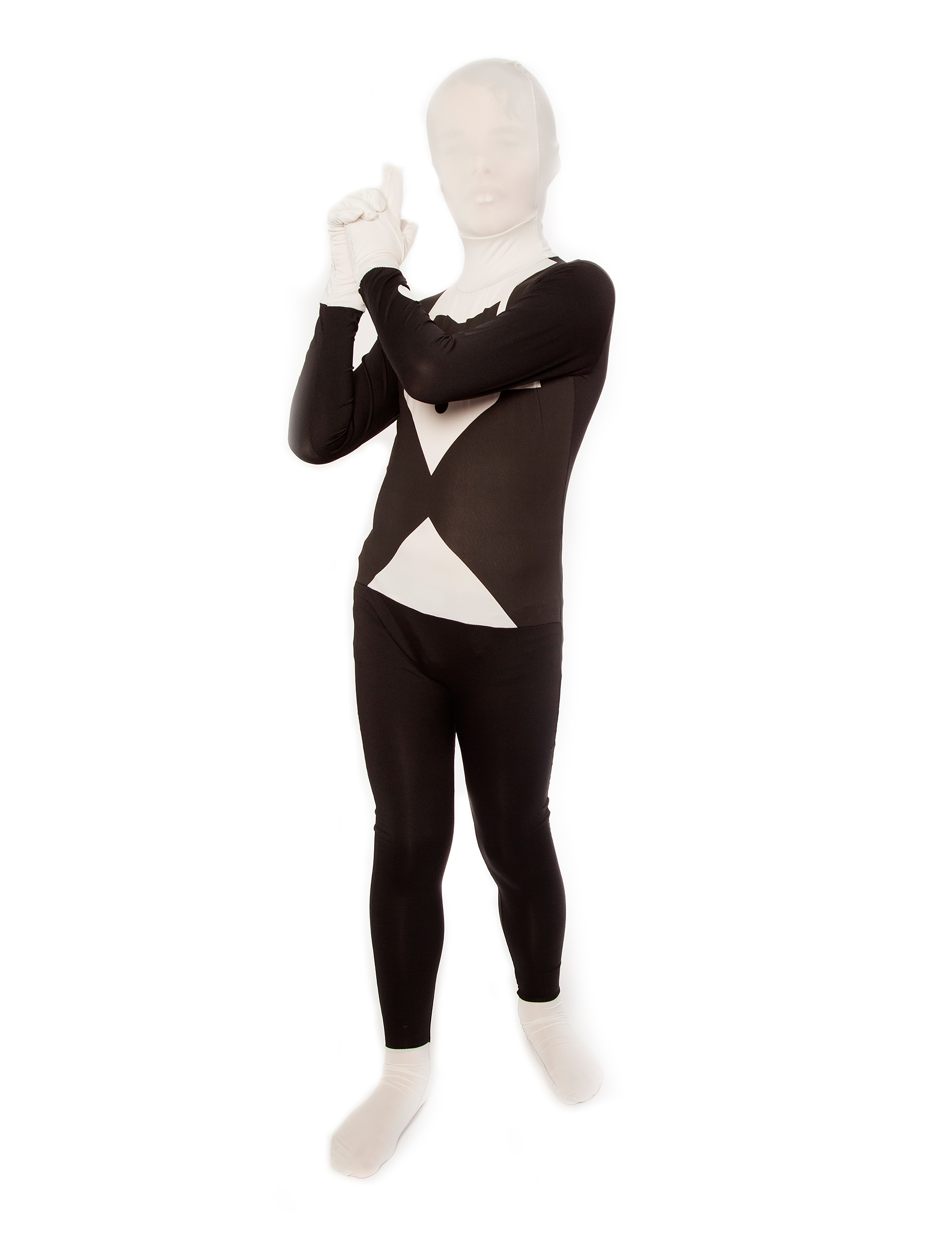 d guisement costume noir et blanc enfant morphsuits deguise toi achat de d guisements enfants. Black Bedroom Furniture Sets. Home Design Ideas