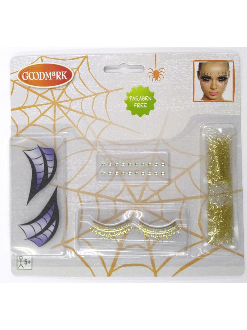 kit maquillage sorci re de la nuit femme halloween. Black Bedroom Furniture Sets. Home Design Ideas