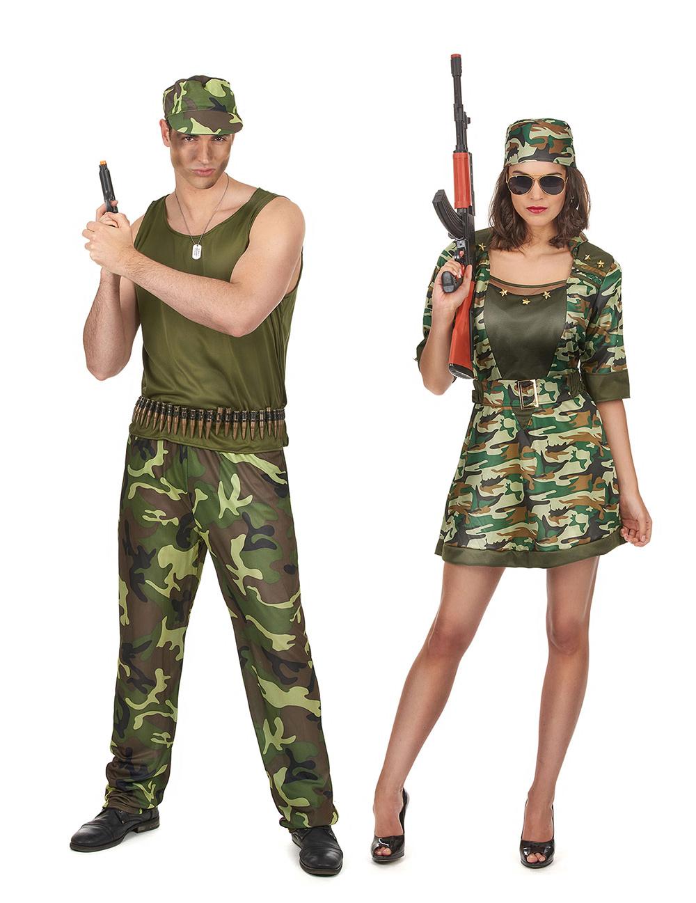 D guisement de couple militaire adulte deguise toi achat de d guisements couples - Theme de deguisement ...