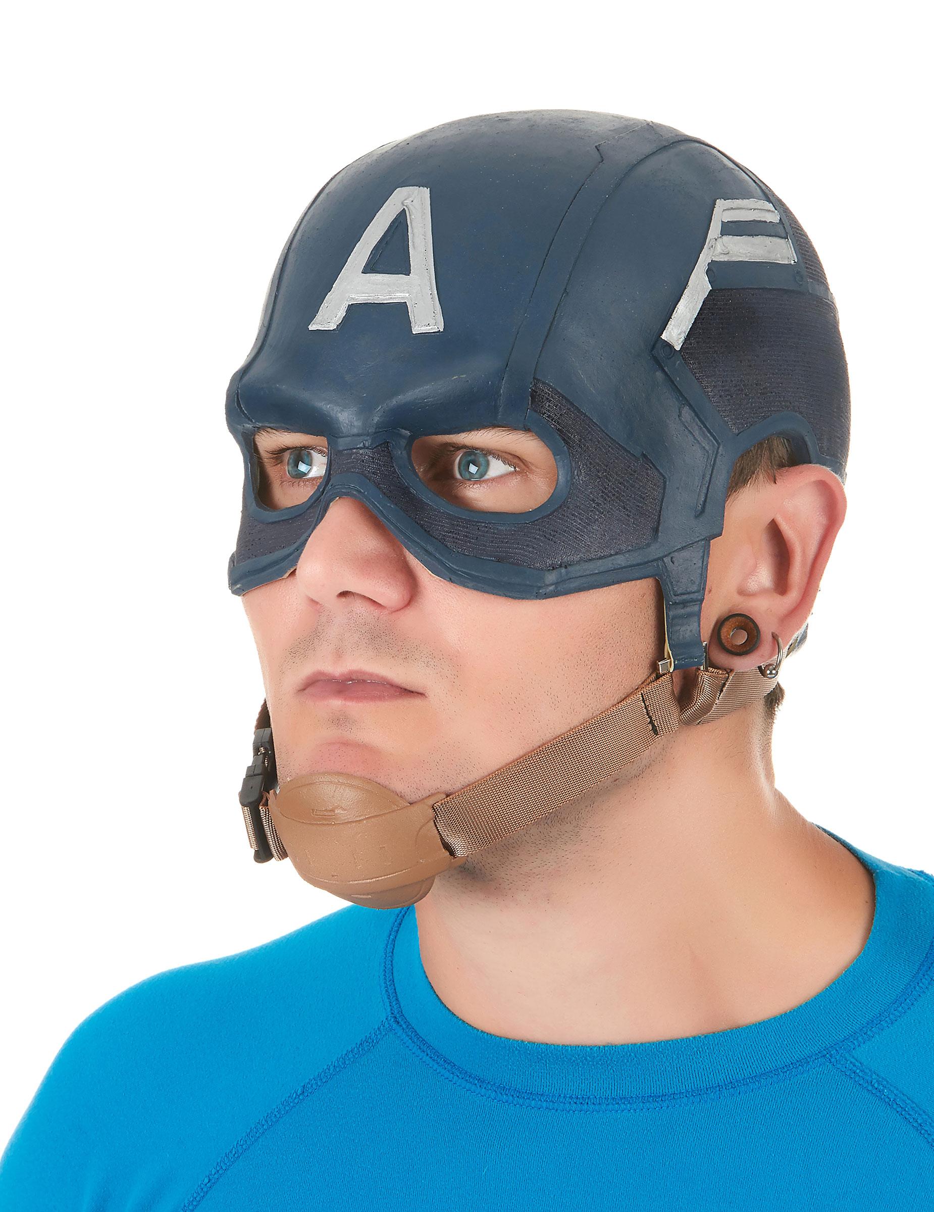 Masque de latex déguisé