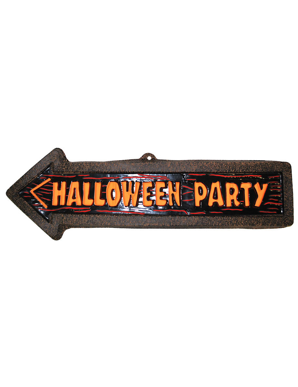 D coration murale fl che halloween party 57 x 19 cm achat for Decoration murale halloween