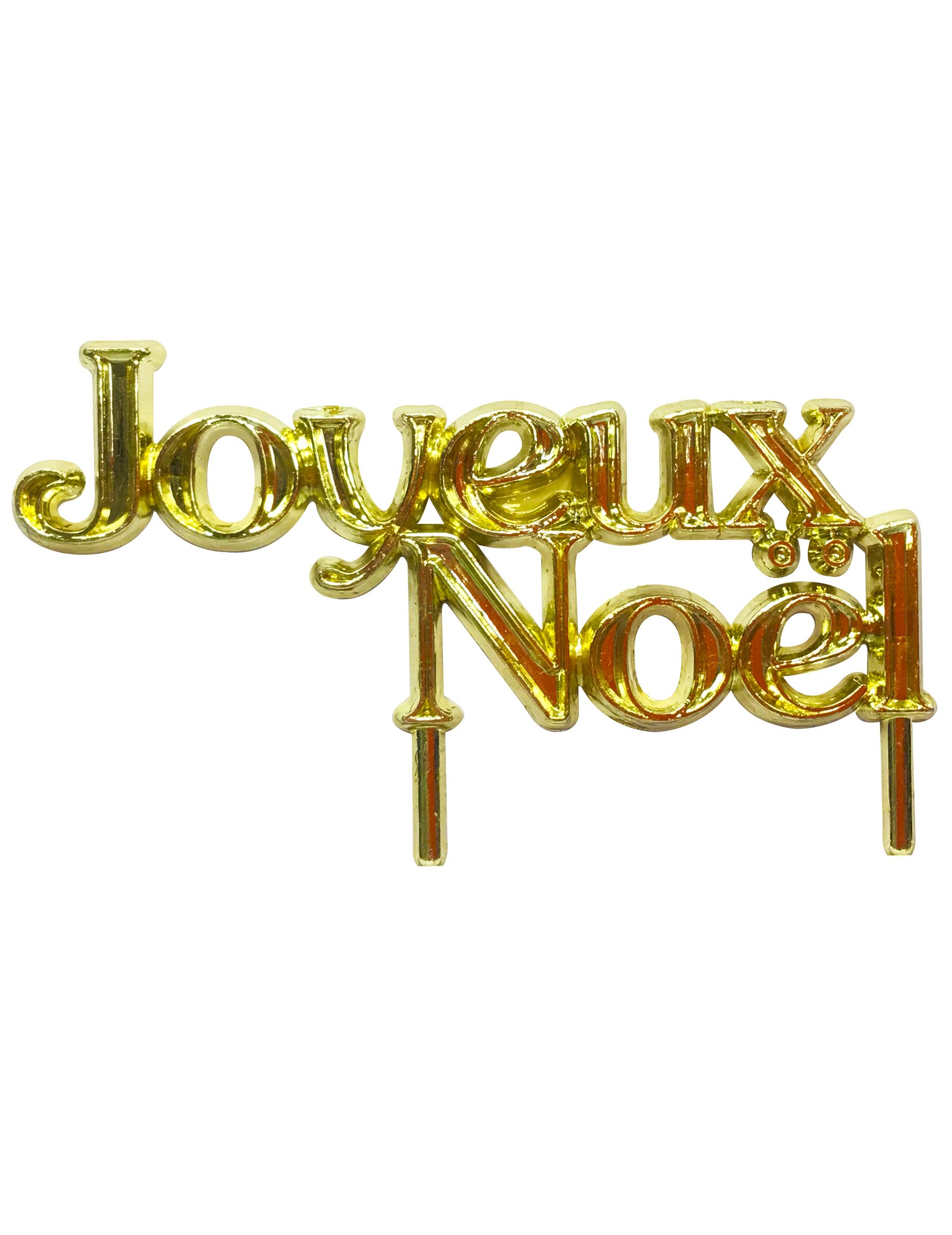 D coration pour b che joyeux no l 7 cm deguise toi for Animation decoration noel