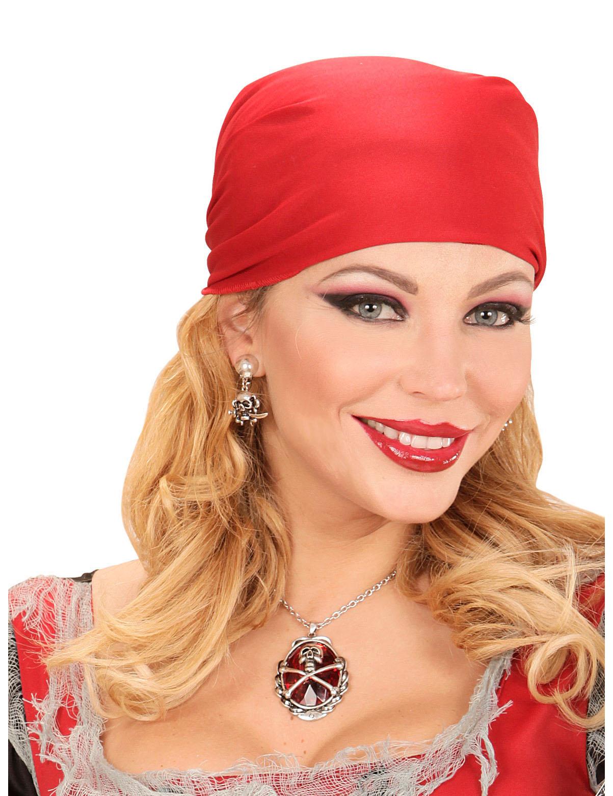 Collier pierre pr cieuse rouge pirate femme achat de accessoires sur vegaoopro grossiste en - Fausse pierre precieuse ...