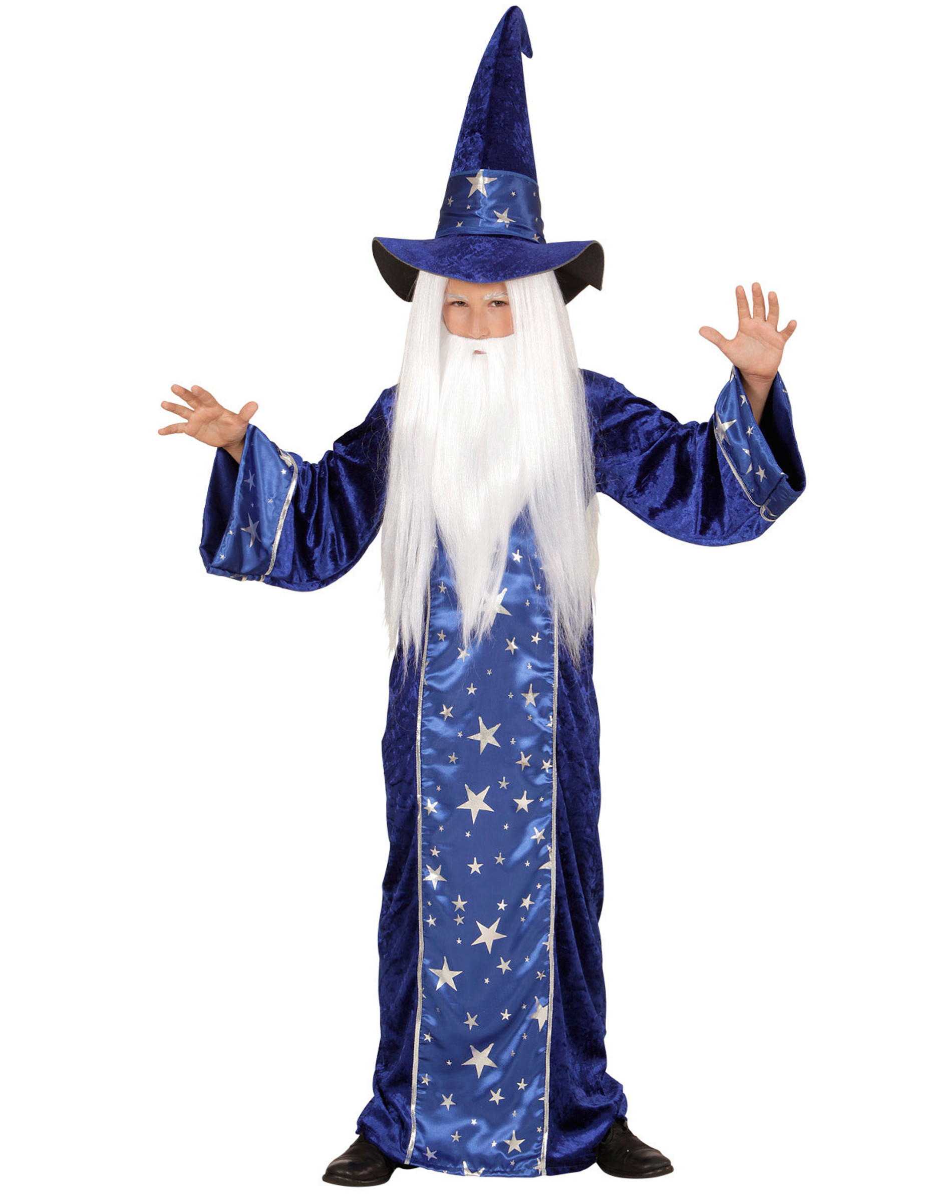 d guisement magicien toil bleu enfant deguise toi achat de d guisements enfants. Black Bedroom Furniture Sets. Home Design Ideas