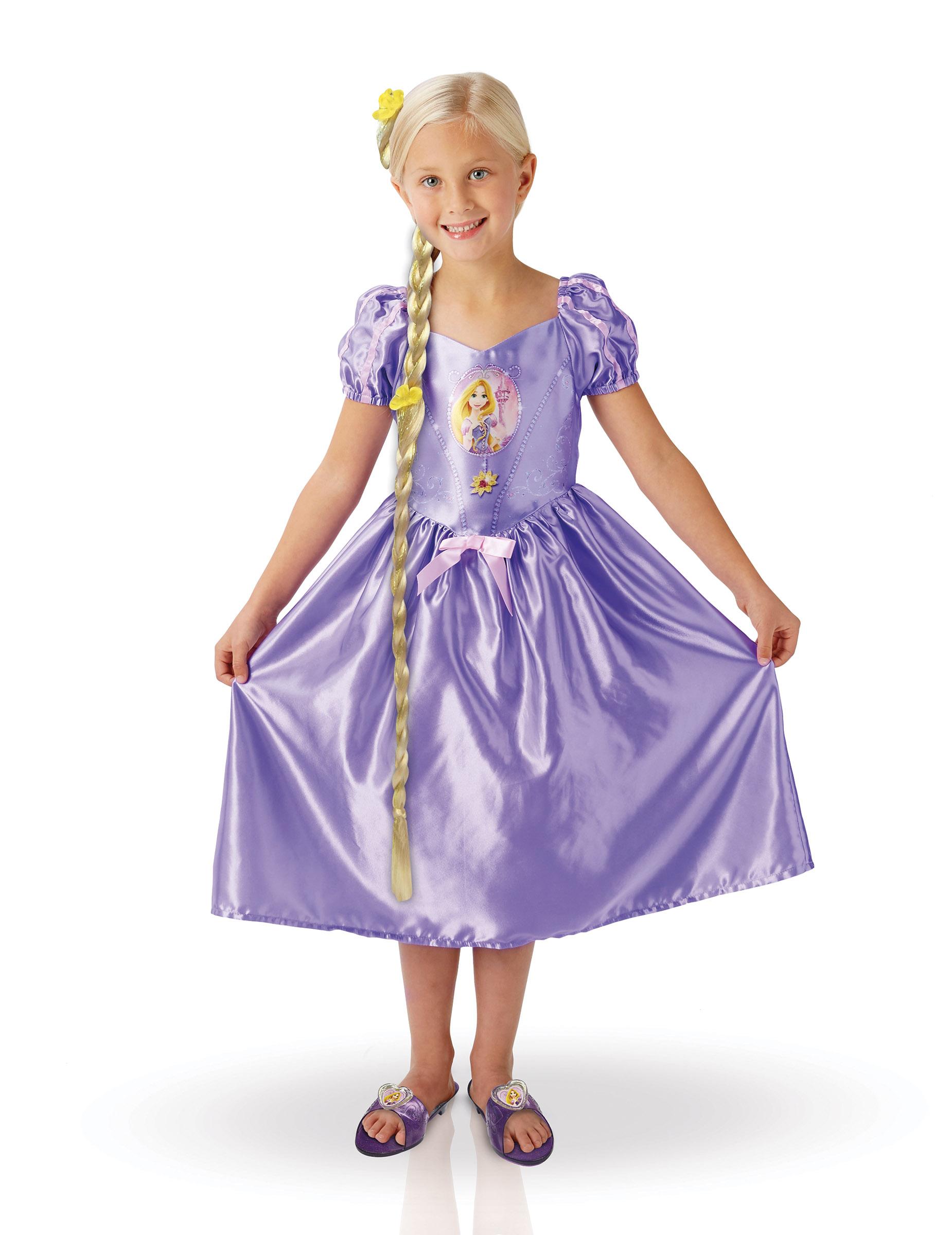 D guisement fille raiponce et accessoires en coffret deguise toi achat de d guisements enfants - Deguisement raiponce adulte ...