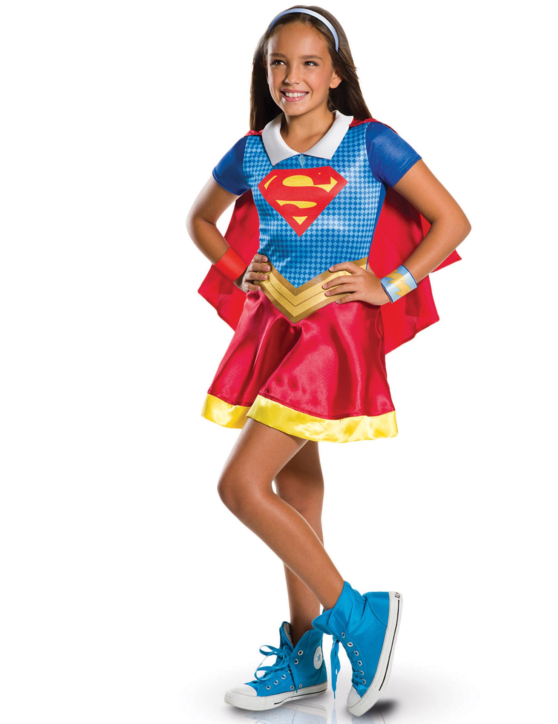 D guisement classique super hero girls supergirl fille deguise toi achat de d guisements enfants - Image super heros fille ...
