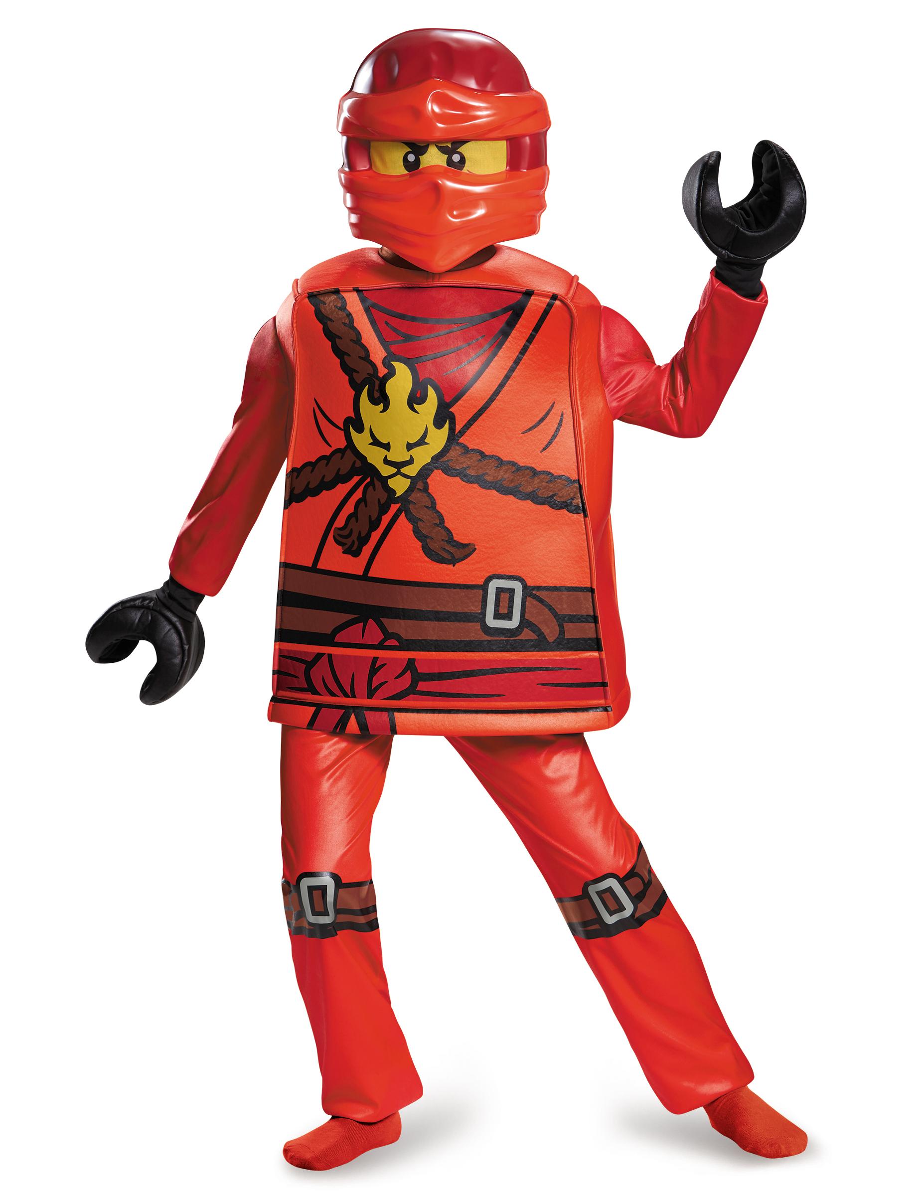 D guisement deluxe kai ninjago lego enfant deguise toi achat de d guisements enfants - Deguisement tete de lego ...
