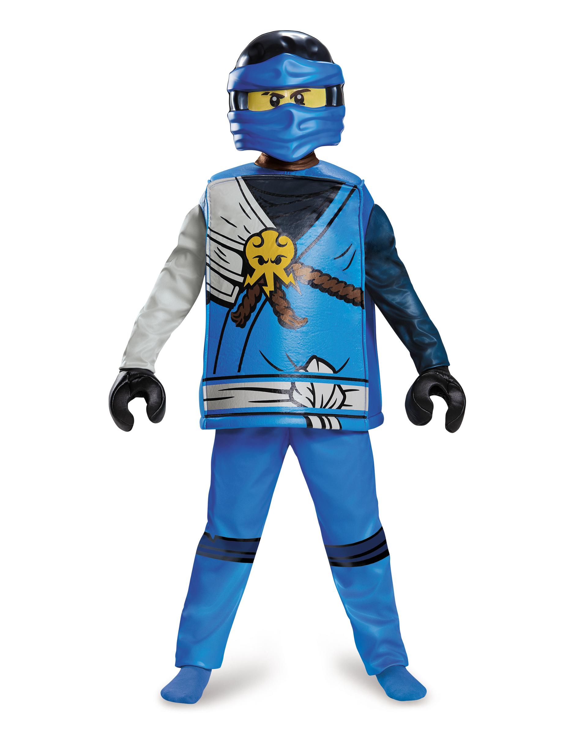 D guisement deluxe jay ninjago lego enfant achat de d guisements enfants sur vegaoopro - Deguisement tete de lego ...