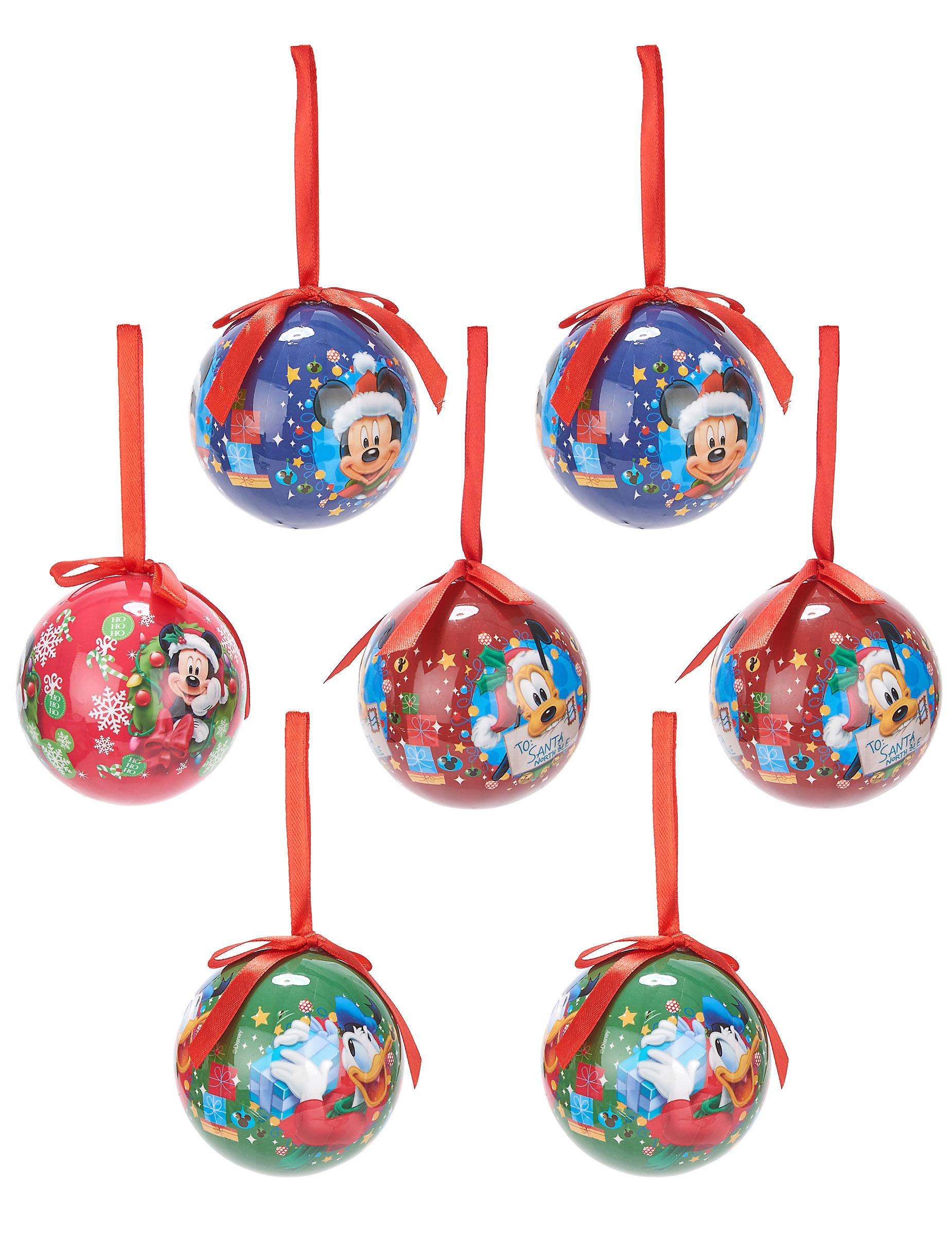 Souvent 7 Boules de Noël Mickey™ 7,5 cm : Deguise-toi, achat de Decoration  ZO77