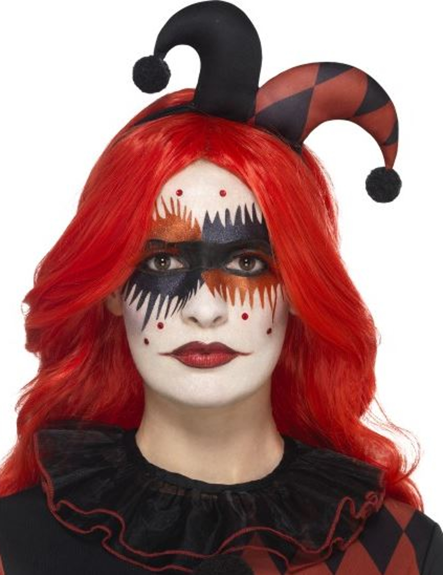 maquillage halloween arlequin