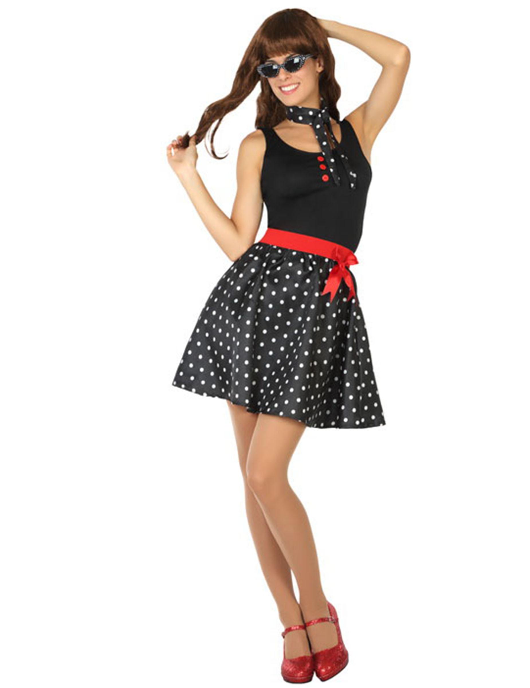 0eb1ae7d72a Déguisement robe années 50 noire   Deguise-toi