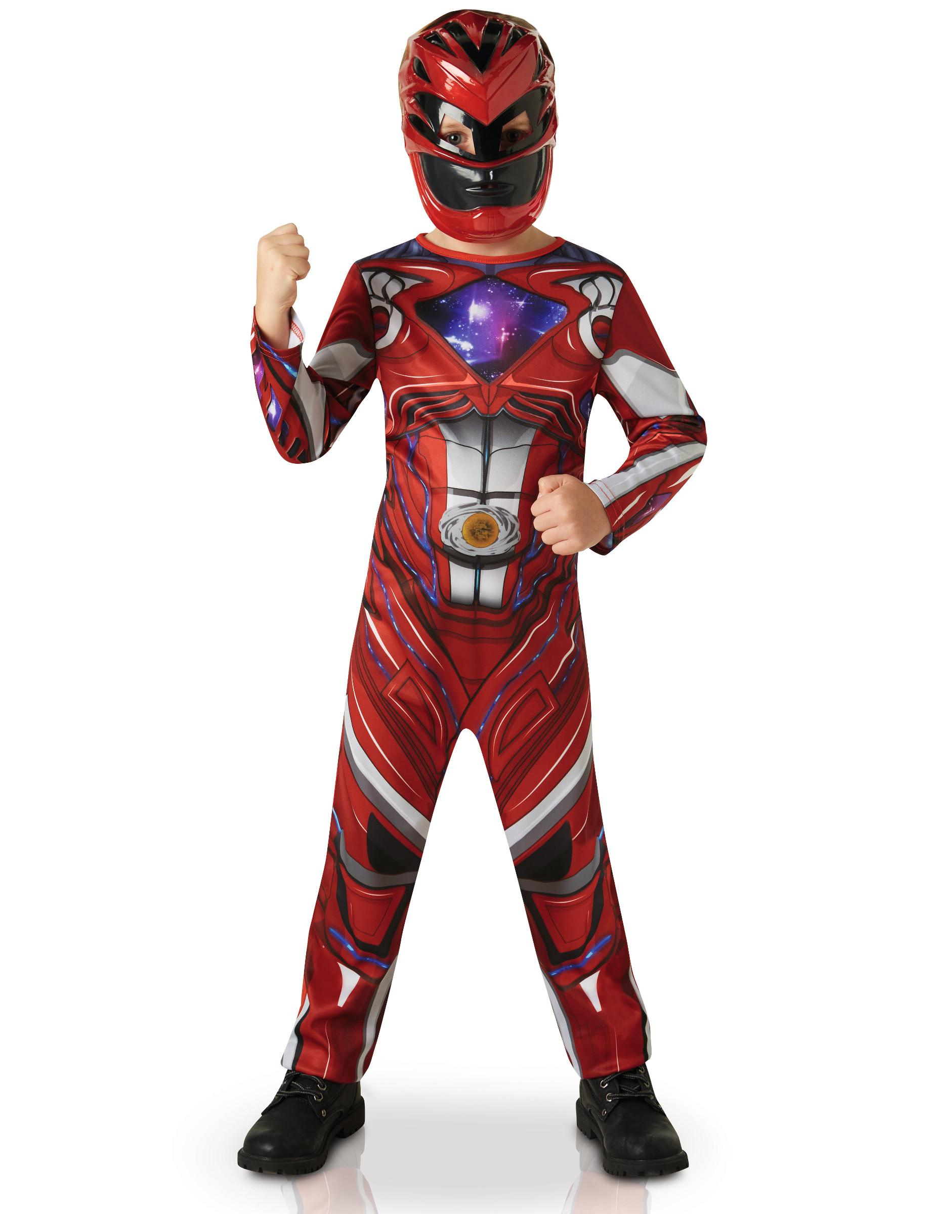 D Guisement Power Rangers Rouge Film Deguise Toi Achat De D Guisements Enfants