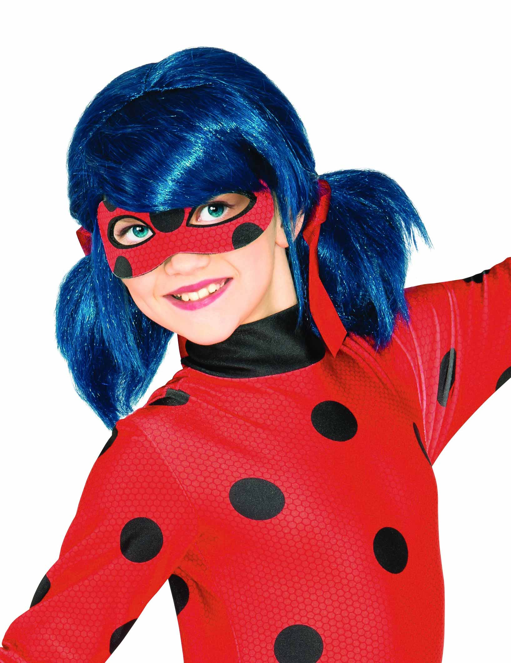 perruque ladybug fille deguise toi achat de perruques. Black Bedroom Furniture Sets. Home Design Ideas