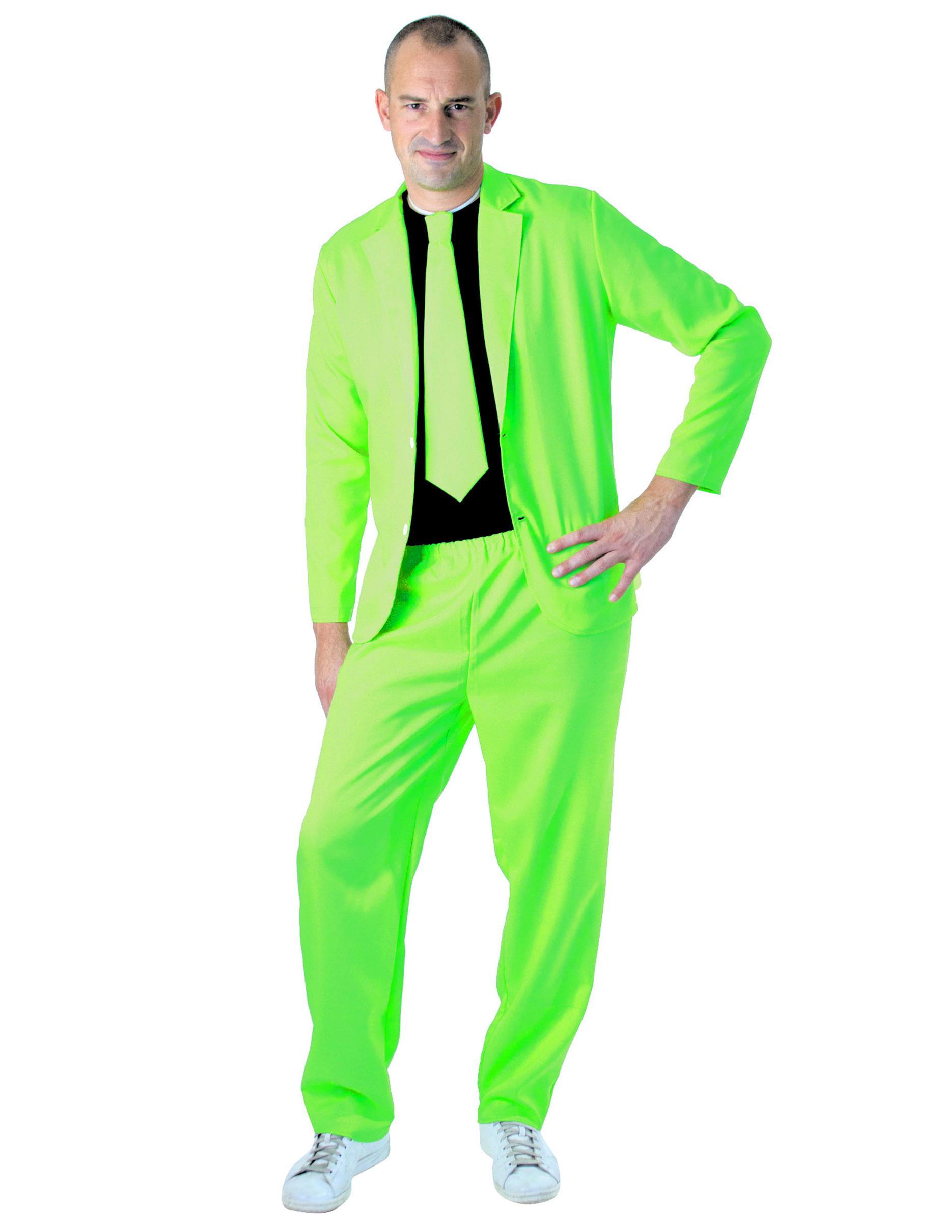 costume fashion vert fluo adulte deguise toi achat de. Black Bedroom Furniture Sets. Home Design Ideas