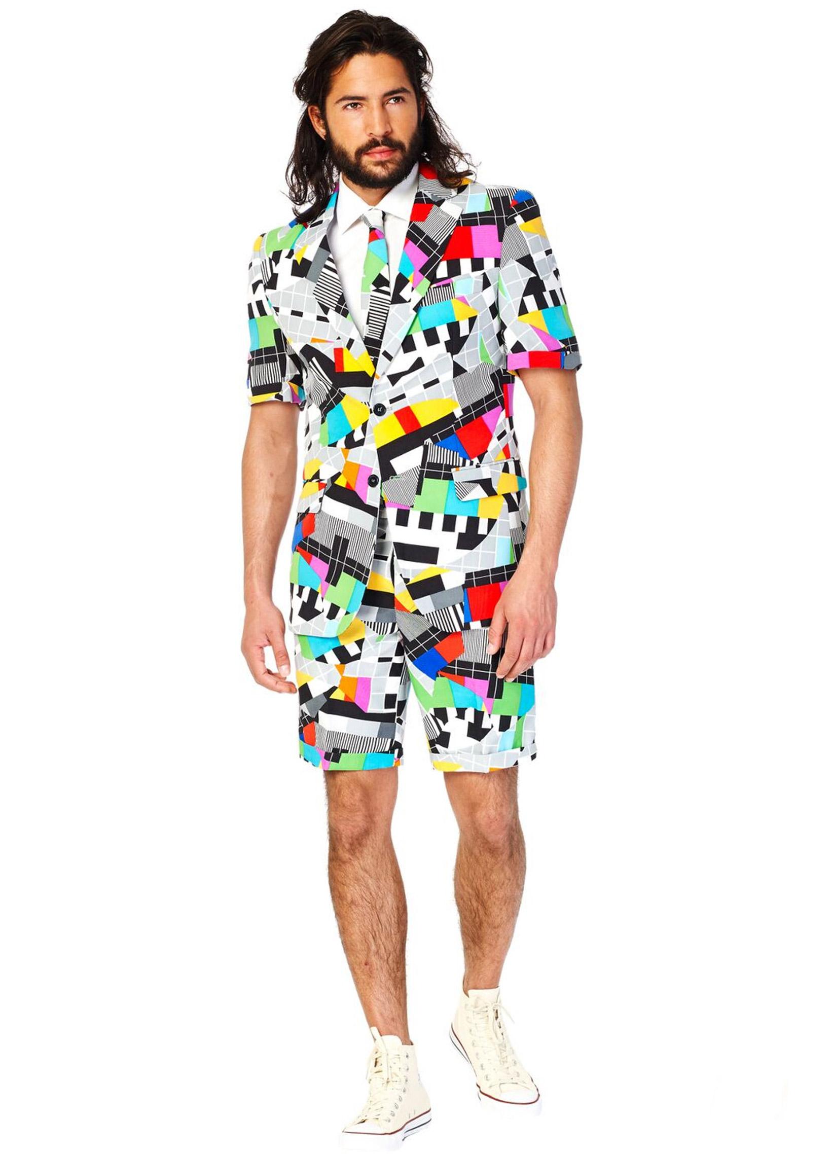 costume d 39 t mr technicolor homme opposuits deguise toi achat de d guisements adultes. Black Bedroom Furniture Sets. Home Design Ideas