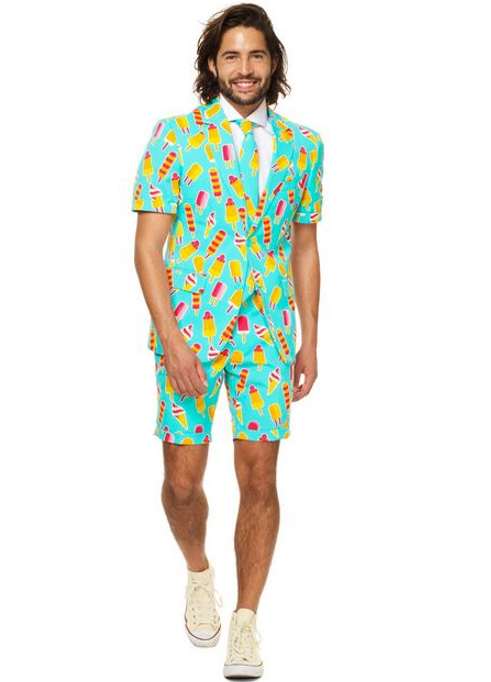 costume d 39 t mr iceman homme opposuits deguise toi achat de d guisements adultes. Black Bedroom Furniture Sets. Home Design Ideas