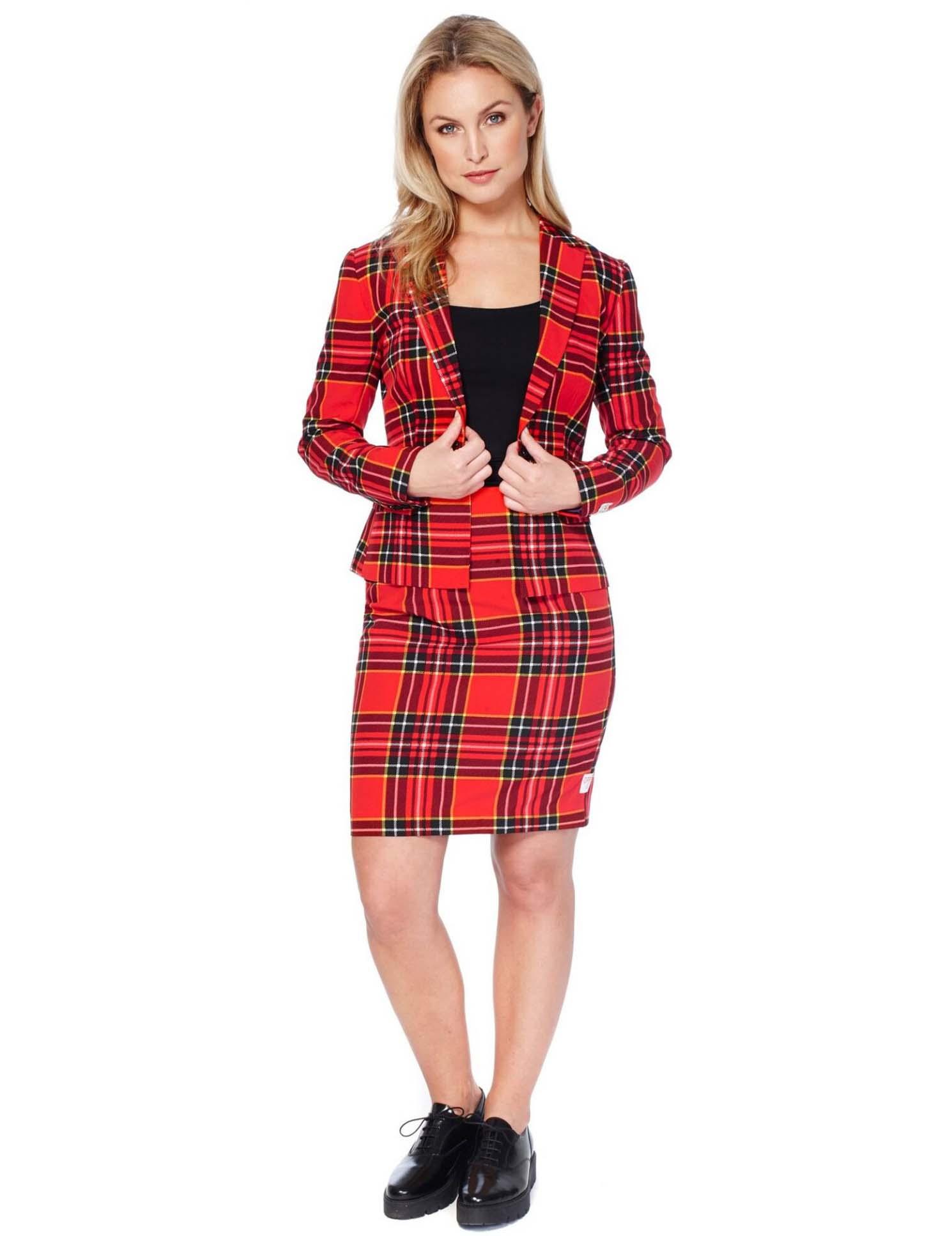 costume mrs tartan rouge cossais femme opposuits deguise toi achat de d guisements adultes. Black Bedroom Furniture Sets. Home Design Ideas