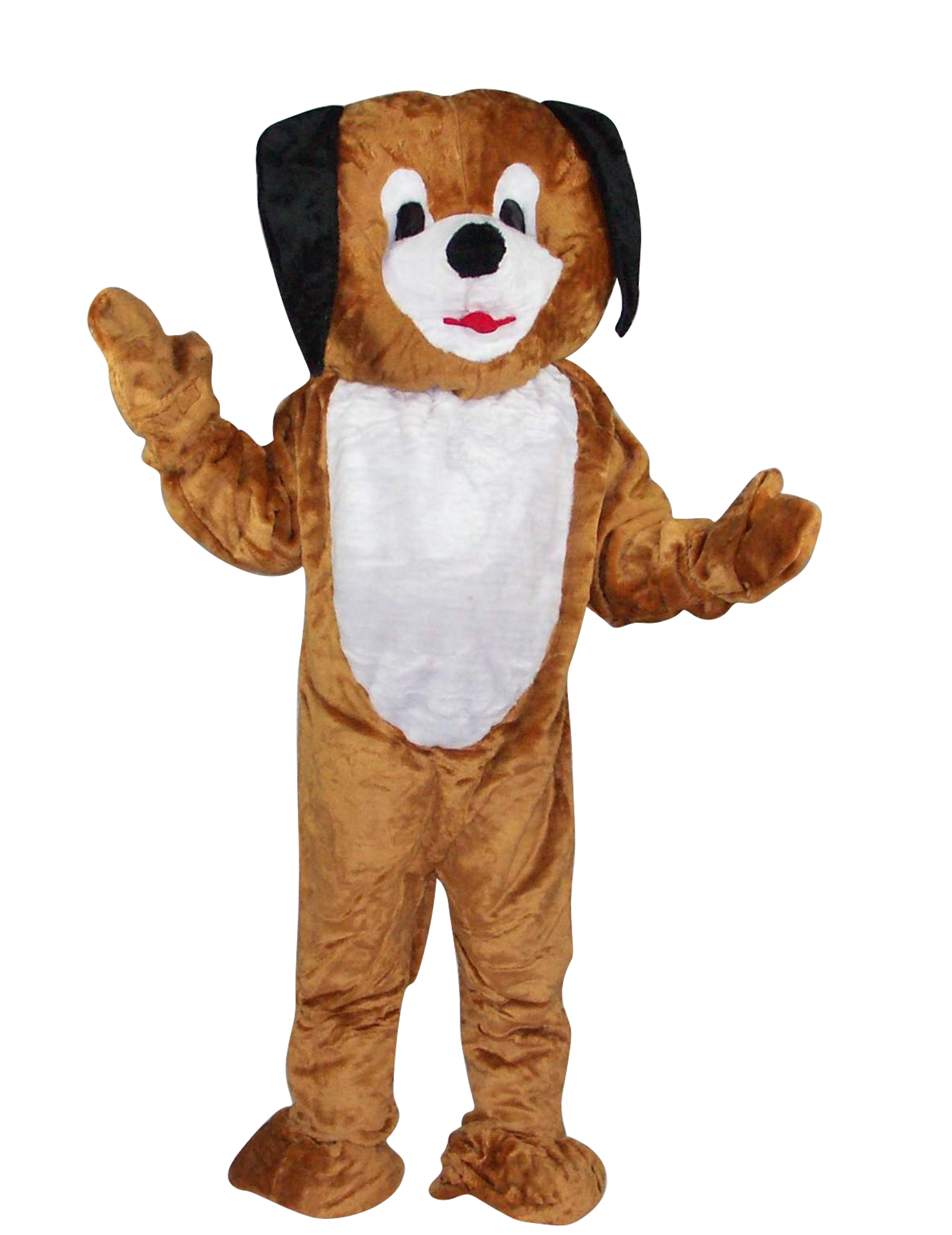 Mascotte chien maxi tête luxe adulte : Deguise-toi, achat