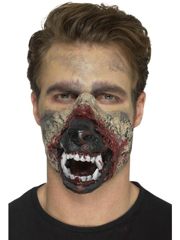 proth se en mousse latex bouche loup garou adulte halloween deguise toi achat de maquillage. Black Bedroom Furniture Sets. Home Design Ideas