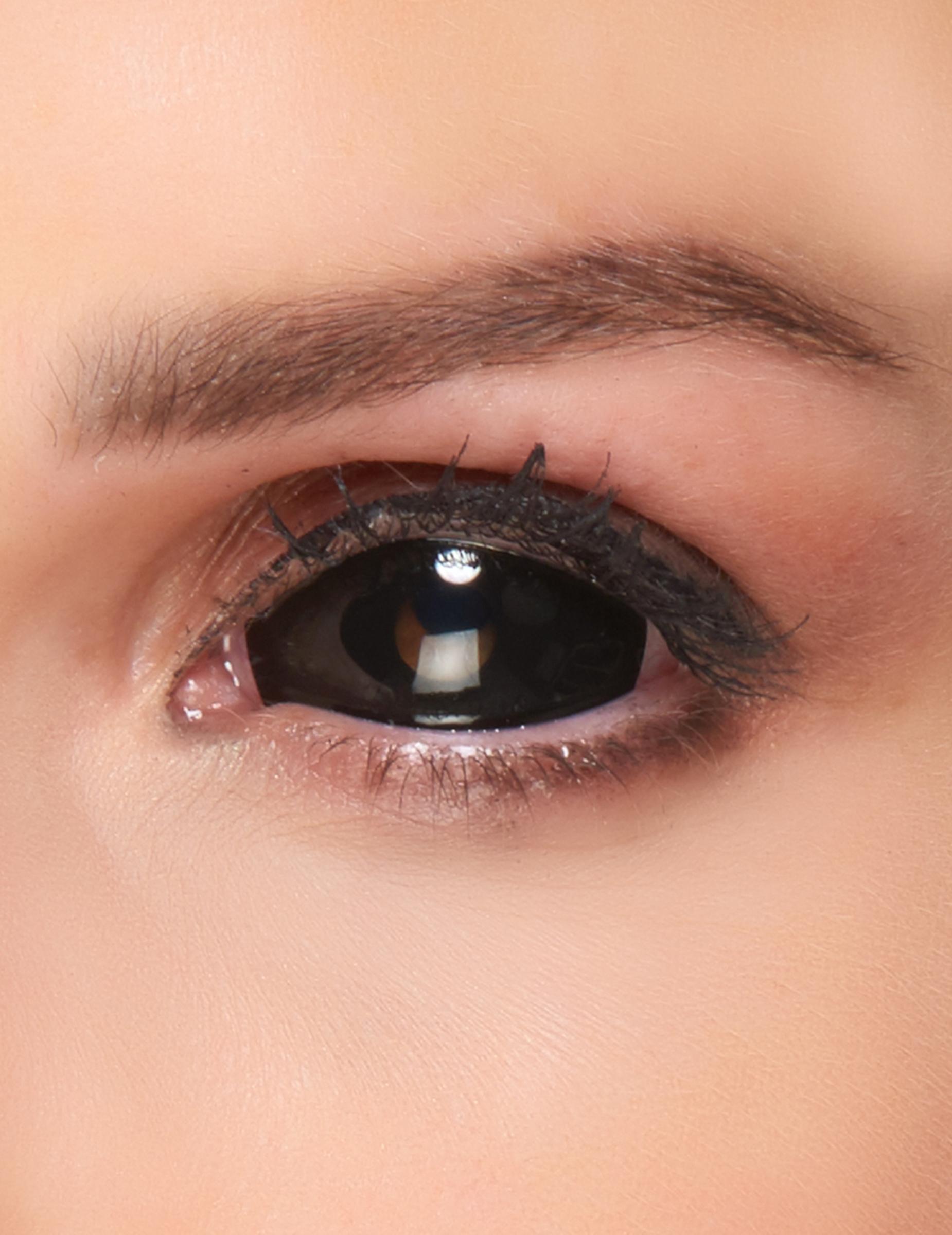 Lentilles fantaisie sclera oeil noir adulte   Deguise-toi, achat de ... a172bce9cb54