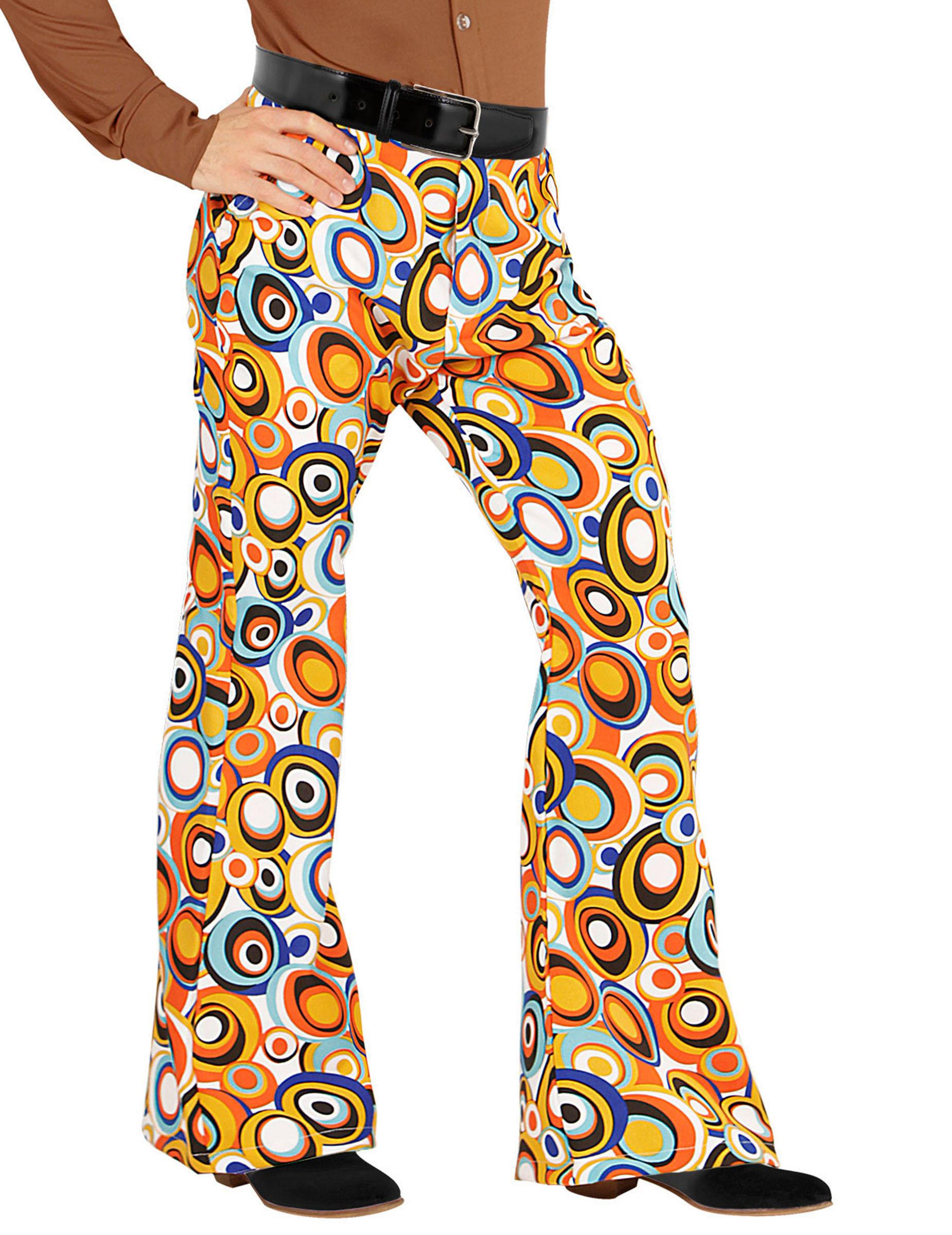 pantalon groovy bubbles ann es 70 homme deguise toi achat de d guisements adultes. Black Bedroom Furniture Sets. Home Design Ideas