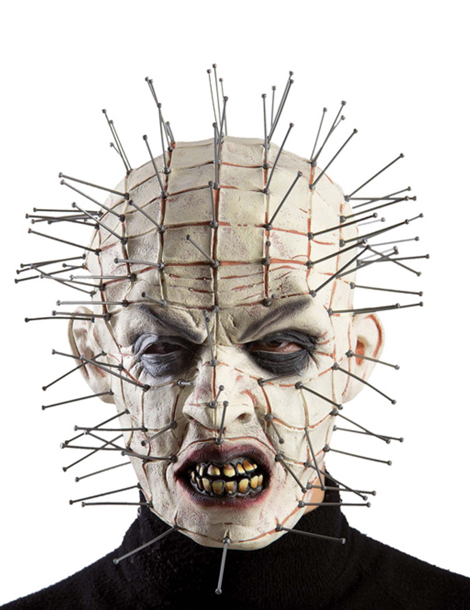 Masque monstre avec aiguilles adulte halloween deguise toi achat de masques - Masque halloween a fabriquer ...