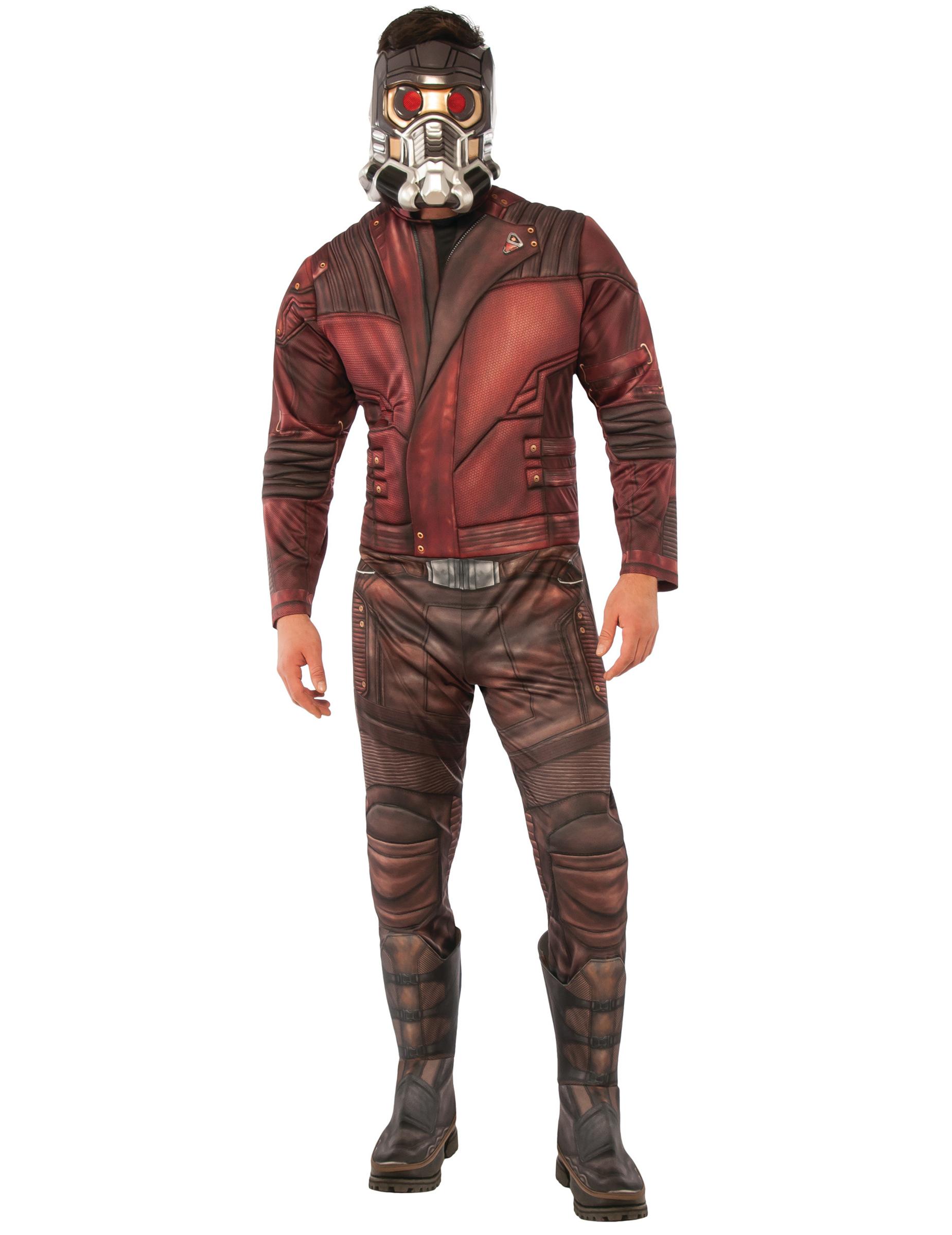 Déguisement avec masque Star-lord™ Les gardiens de la galaxie 2™ adultes f27910b4441