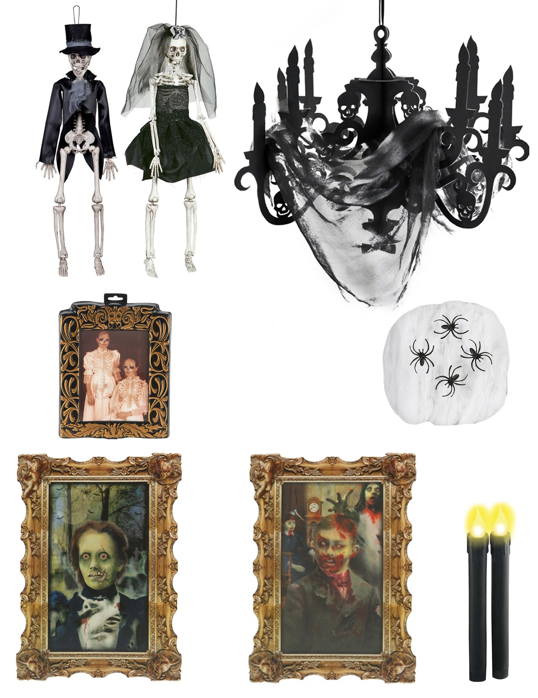 pack maison hant e standard halloween deguise toi achat de decoration animation. Black Bedroom Furniture Sets. Home Design Ideas