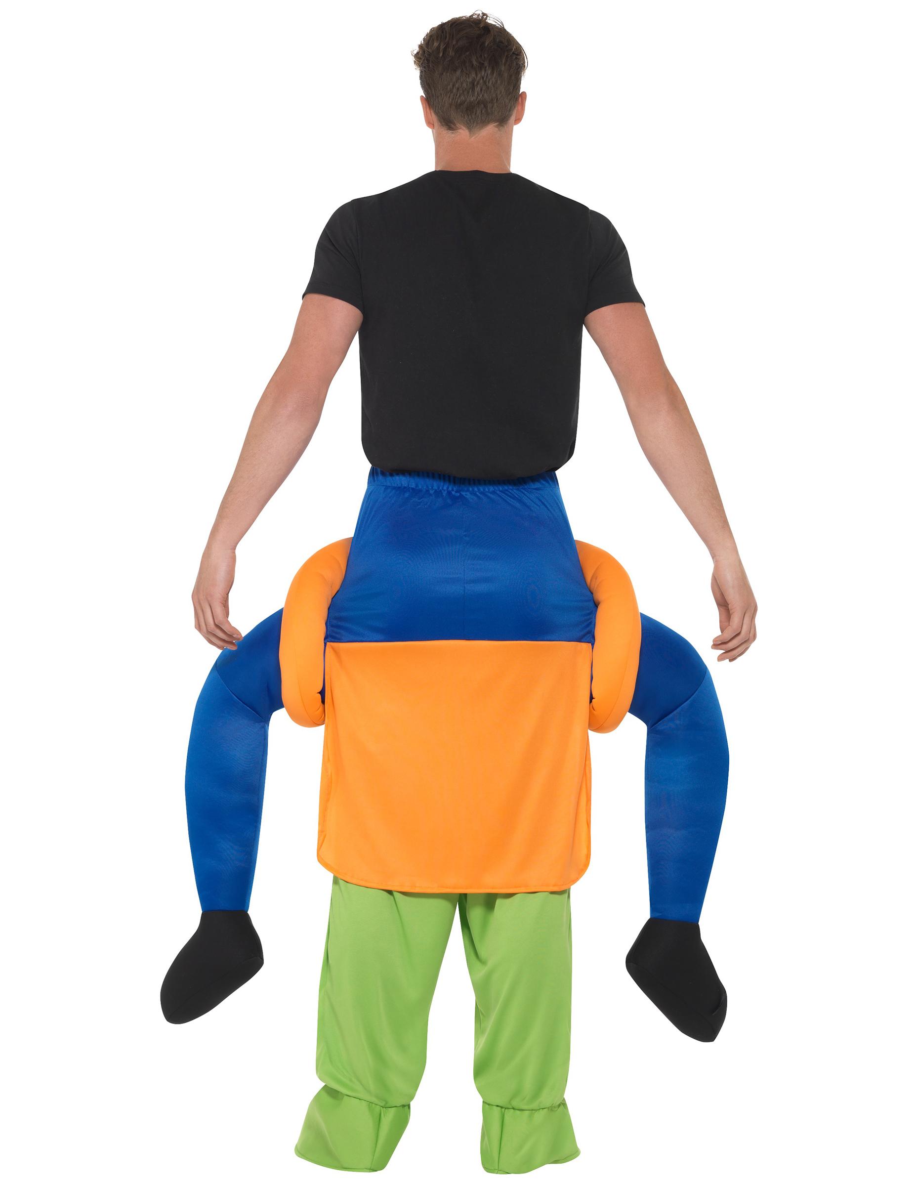 d guisement homme dos de citrouille effrayante adulte halloween deguise toi achat de. Black Bedroom Furniture Sets. Home Design Ideas