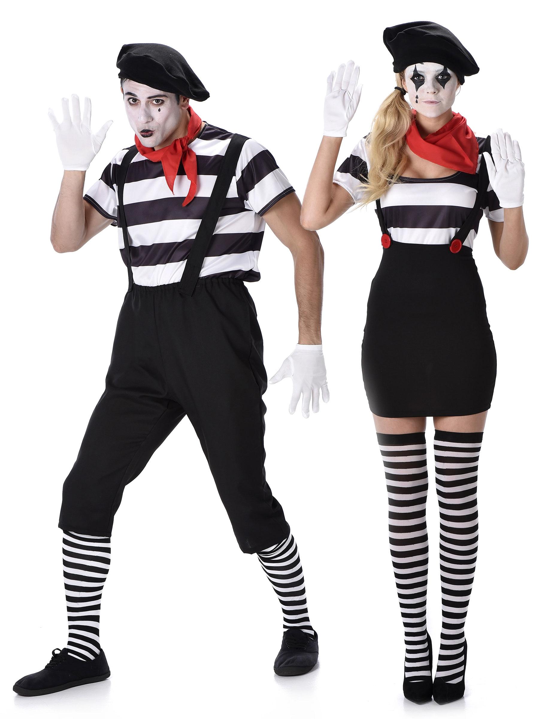déguisement de couple adulte mime deguise toi achat de